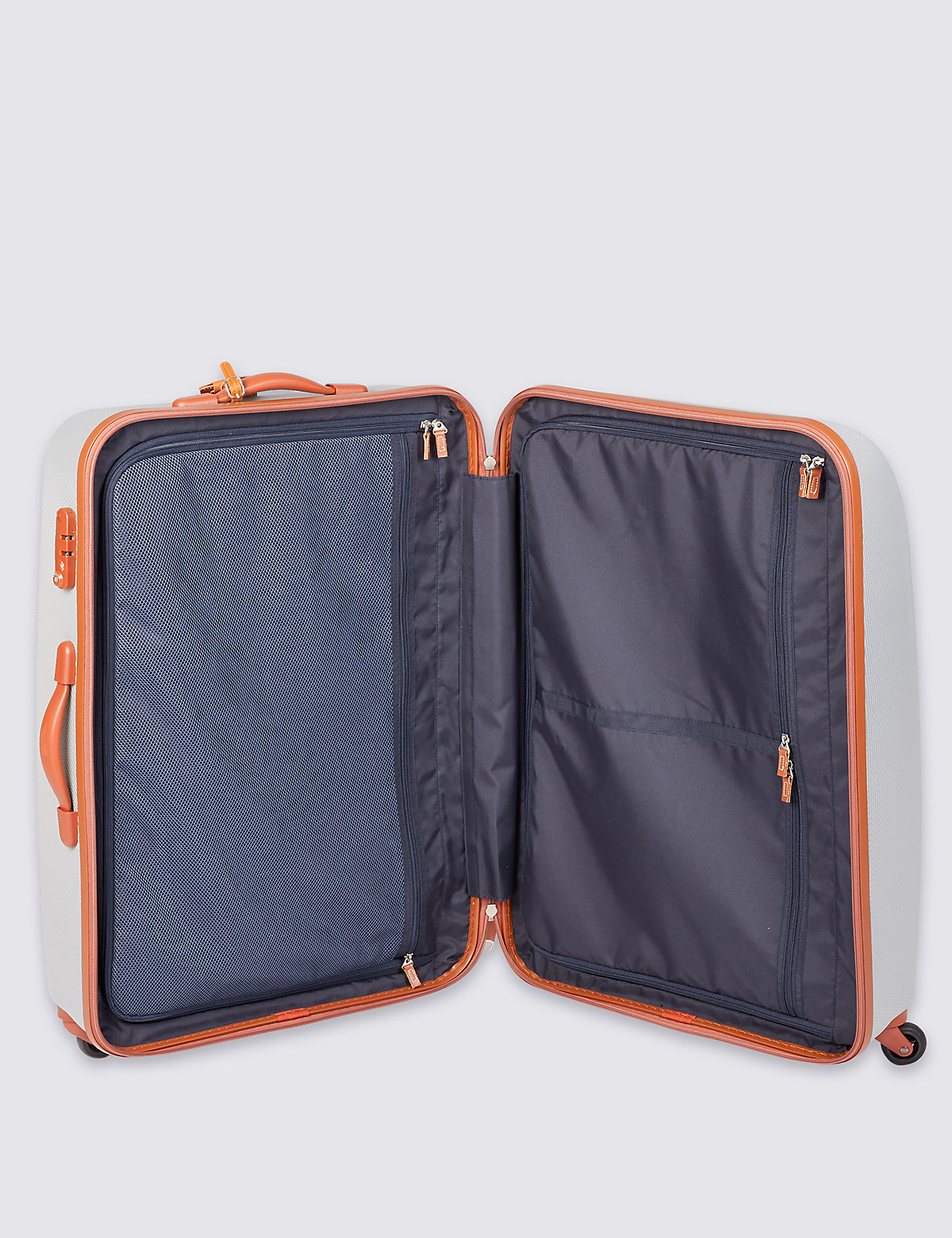 M&S Collection 4 Wheel Large Suitcase