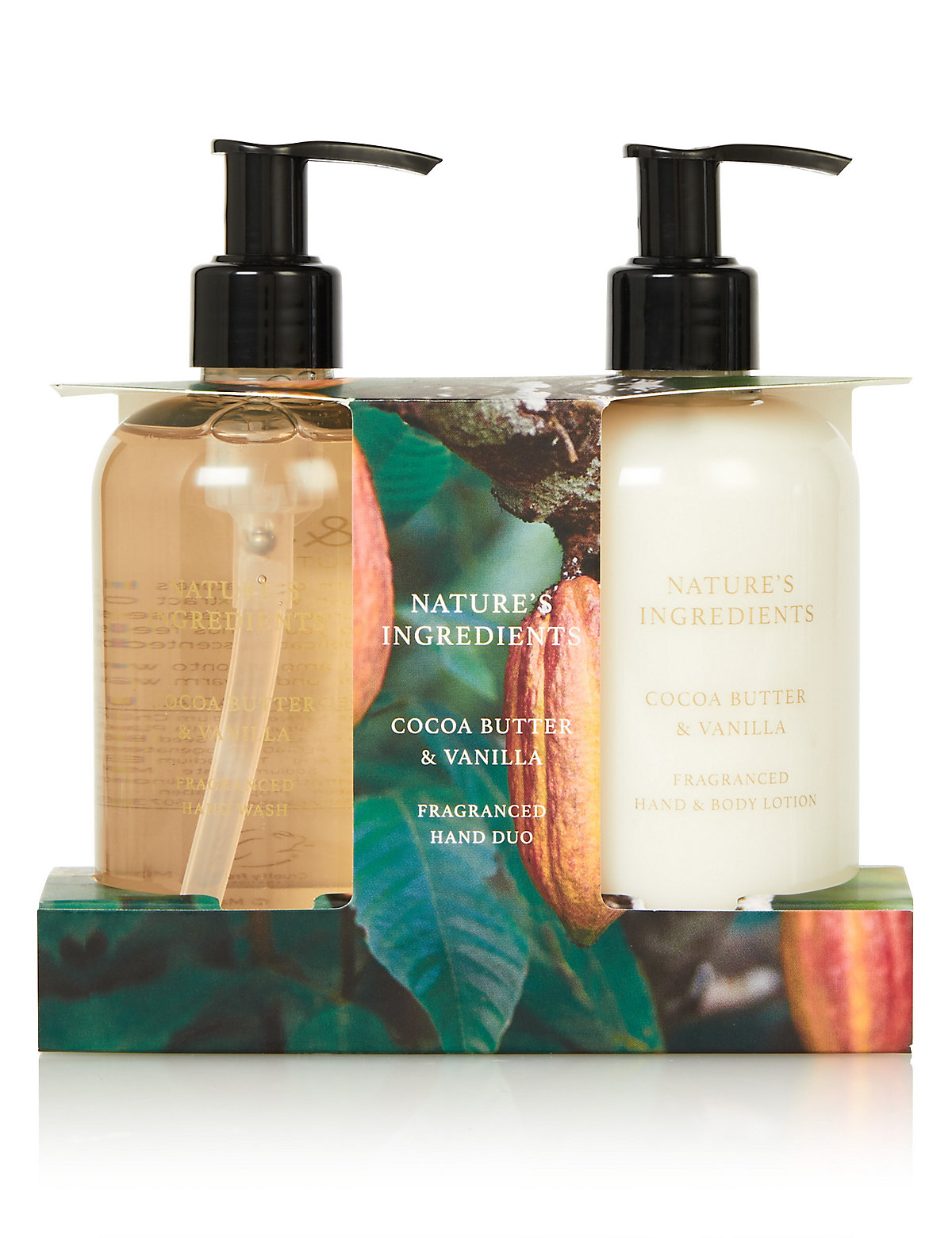 Nature's Ingredients Cocoa Butter And Vanilla Hand Duo