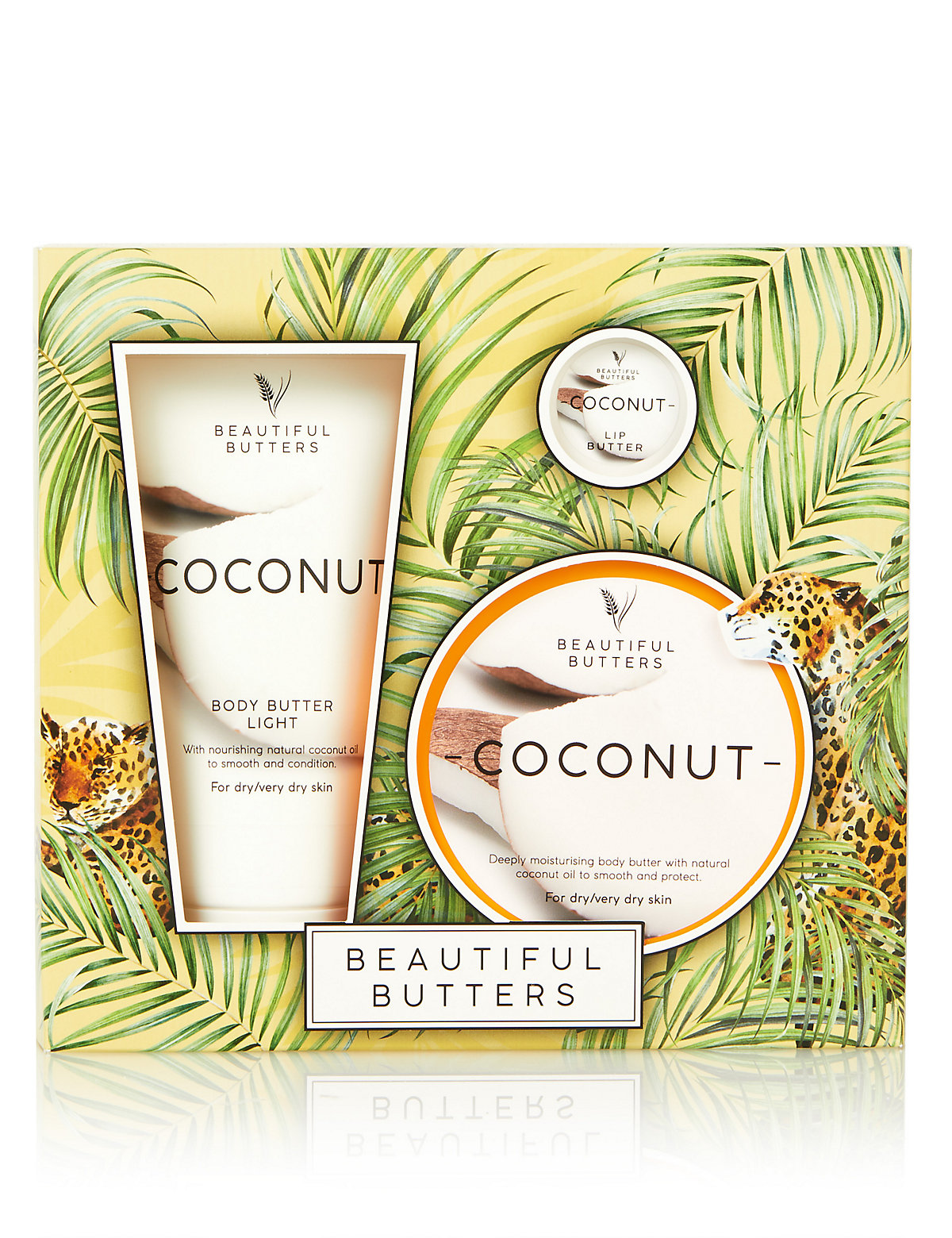 Beautiful Butters Coconut Collection Gift Set