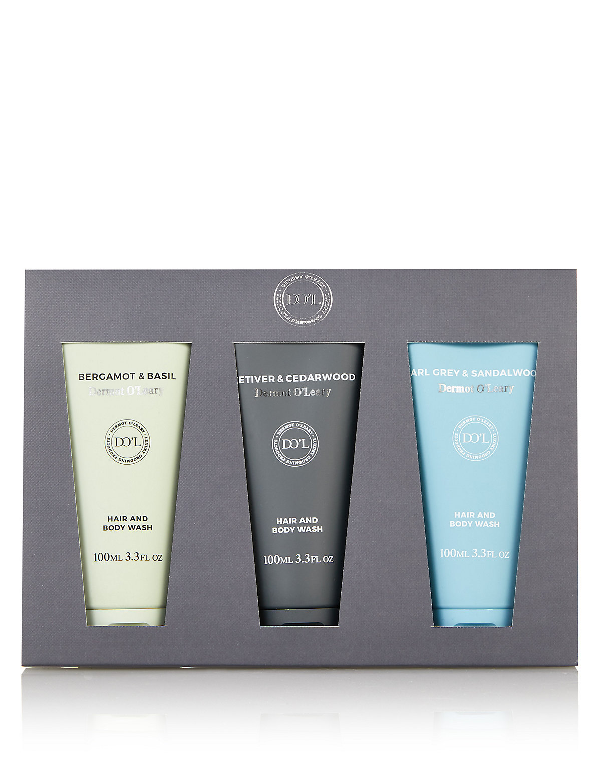 Dermot O'Leary Hair & Body Wash Set