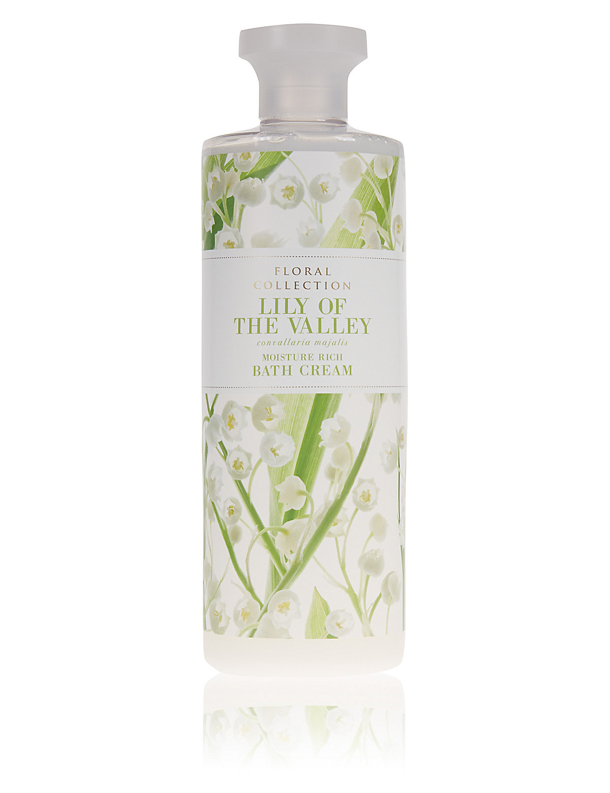 Floral Collection Lily of the Valley Bath Cream 500ml
