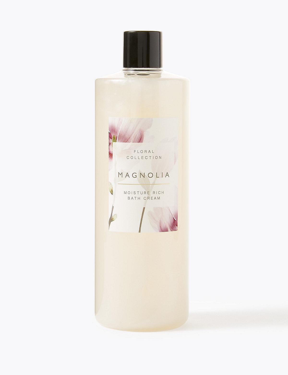 Floral Collection Magnolia Bath Cream 500ml