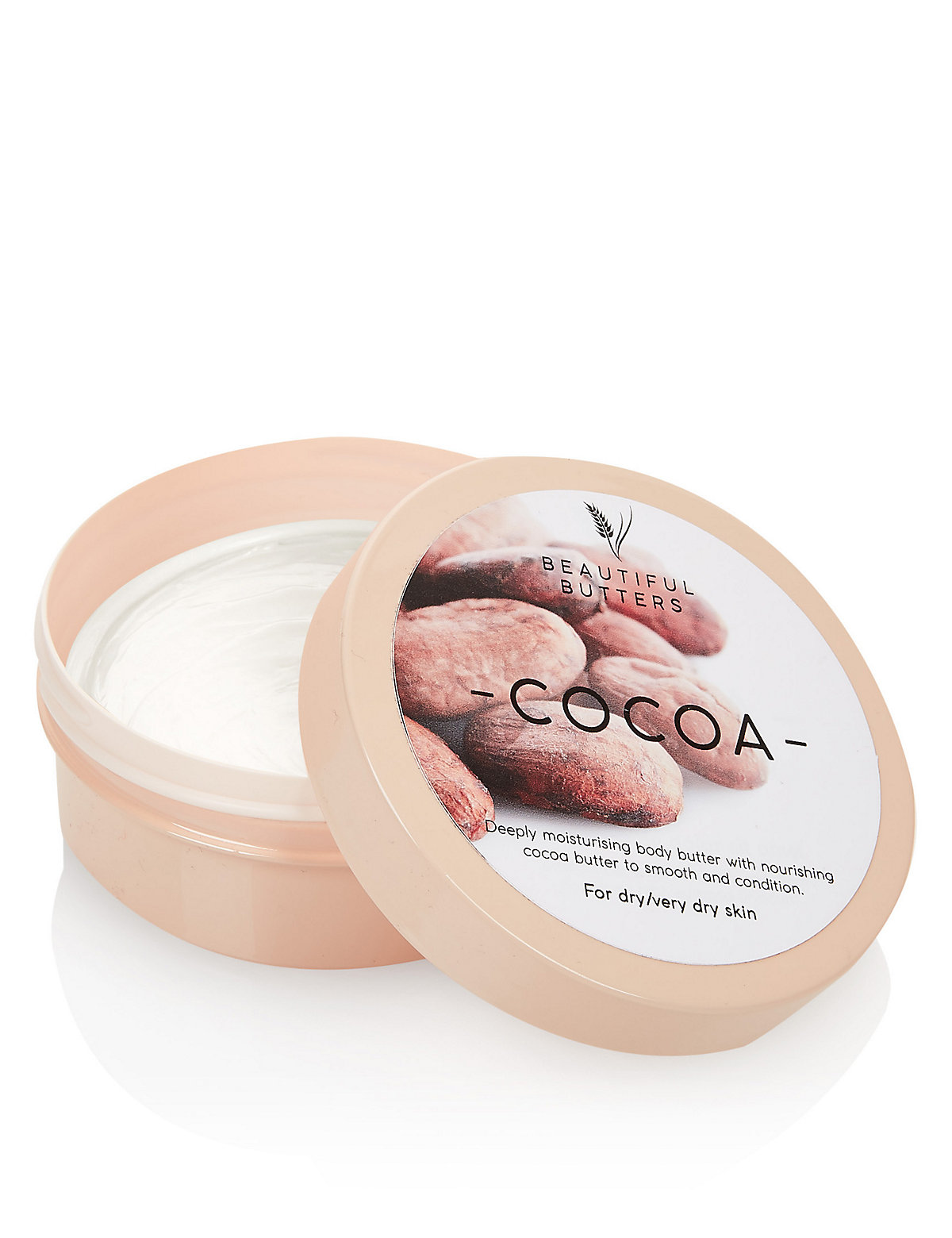 Beautiful Butters Cocoa Body Butter 200ml
