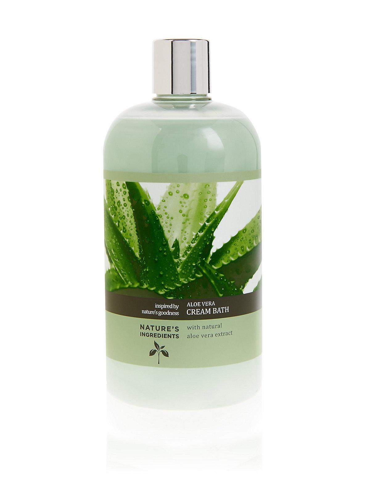 Nature's Ingredients Aloe Vera Bath Cream 500 ml