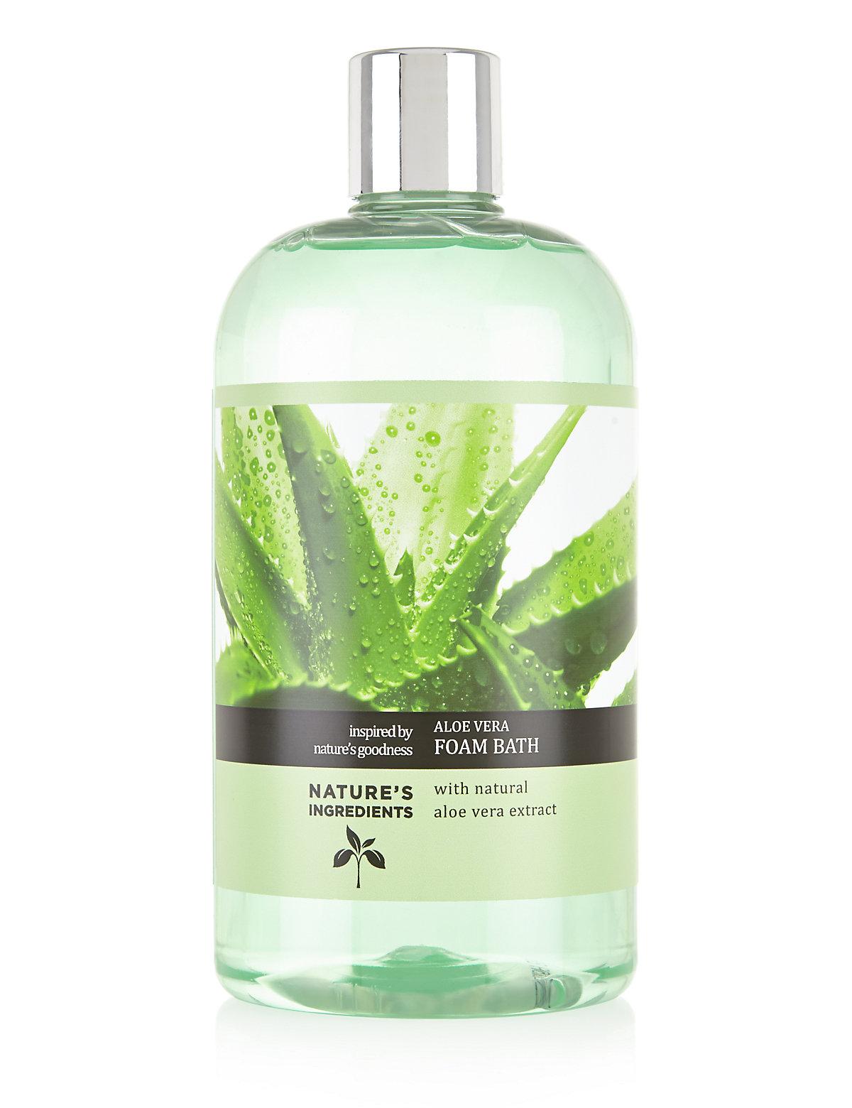 Nature's Ingredients Aloe Vera Foam Bath 500ml