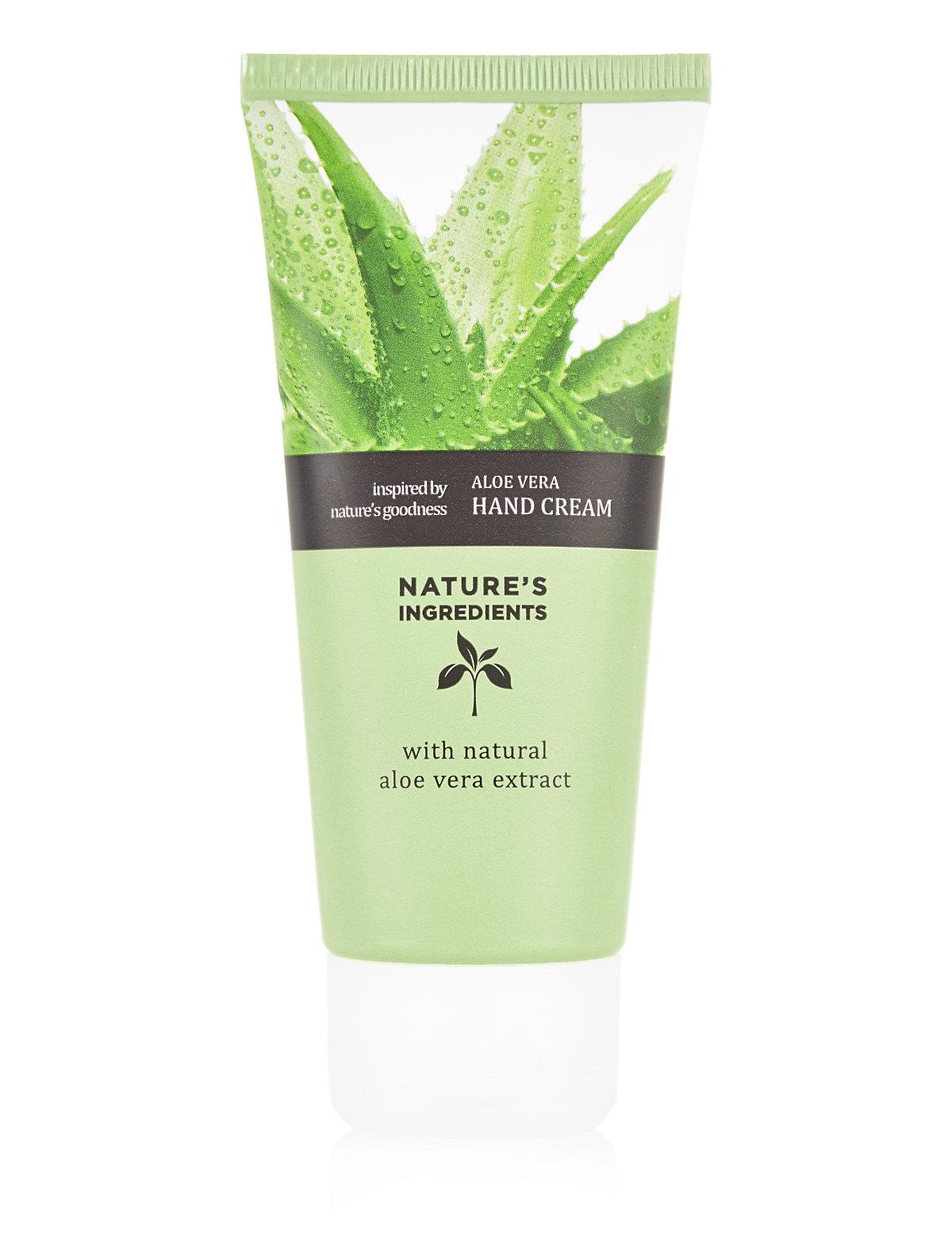 Nature's Ingredients Aloe Vera Hand Cream 100ml