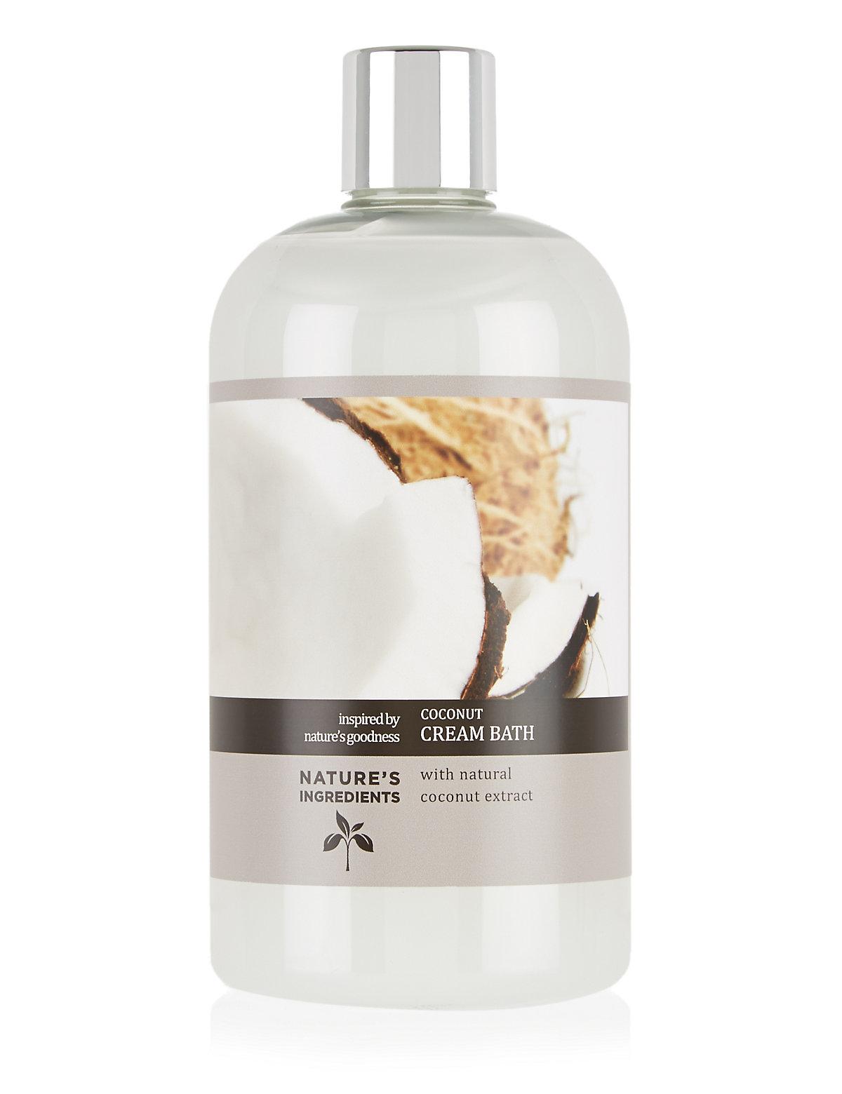 Nature's Ingredients Coconut Bath Cream 500ml