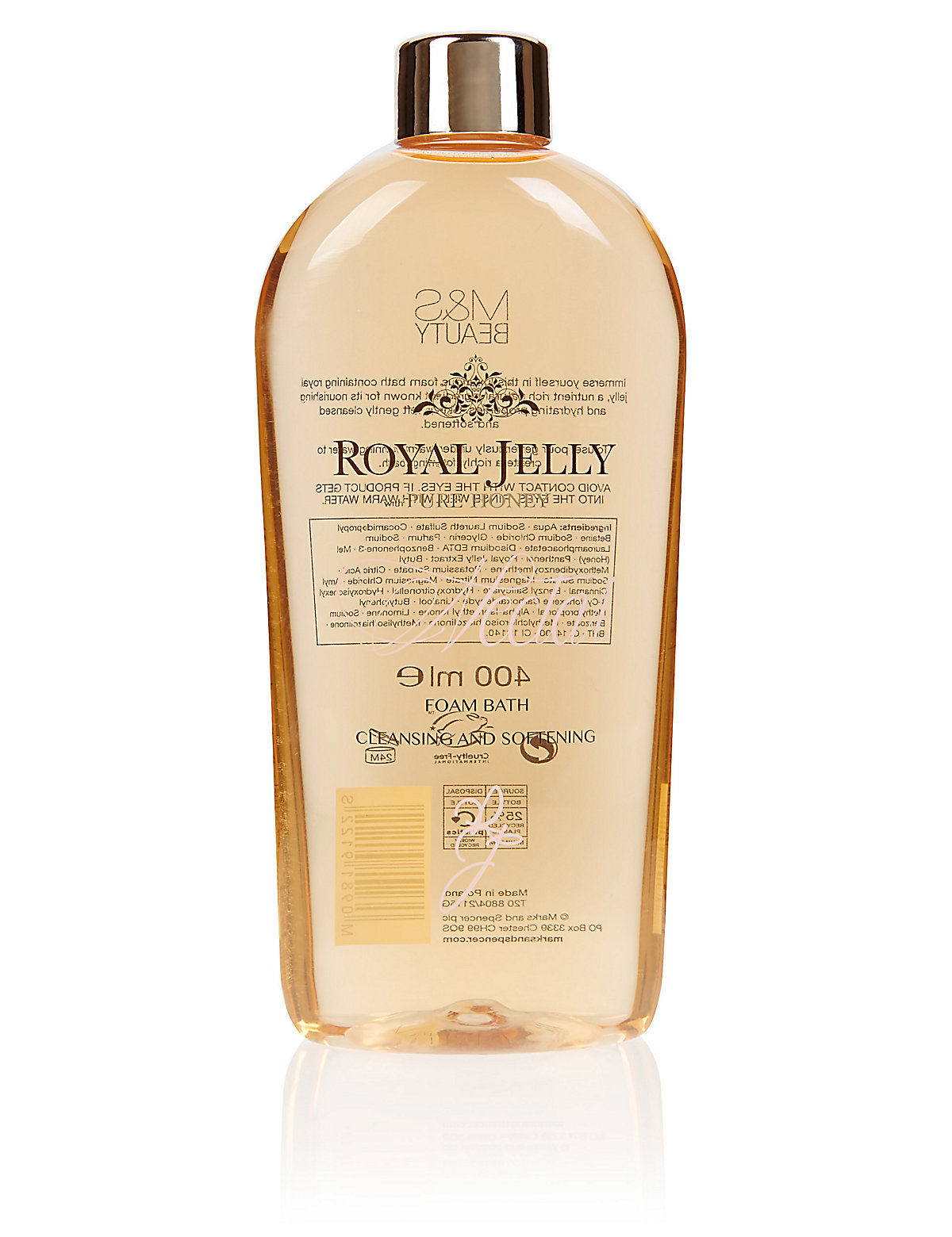 Royal Jelly Foam Bath 400ml