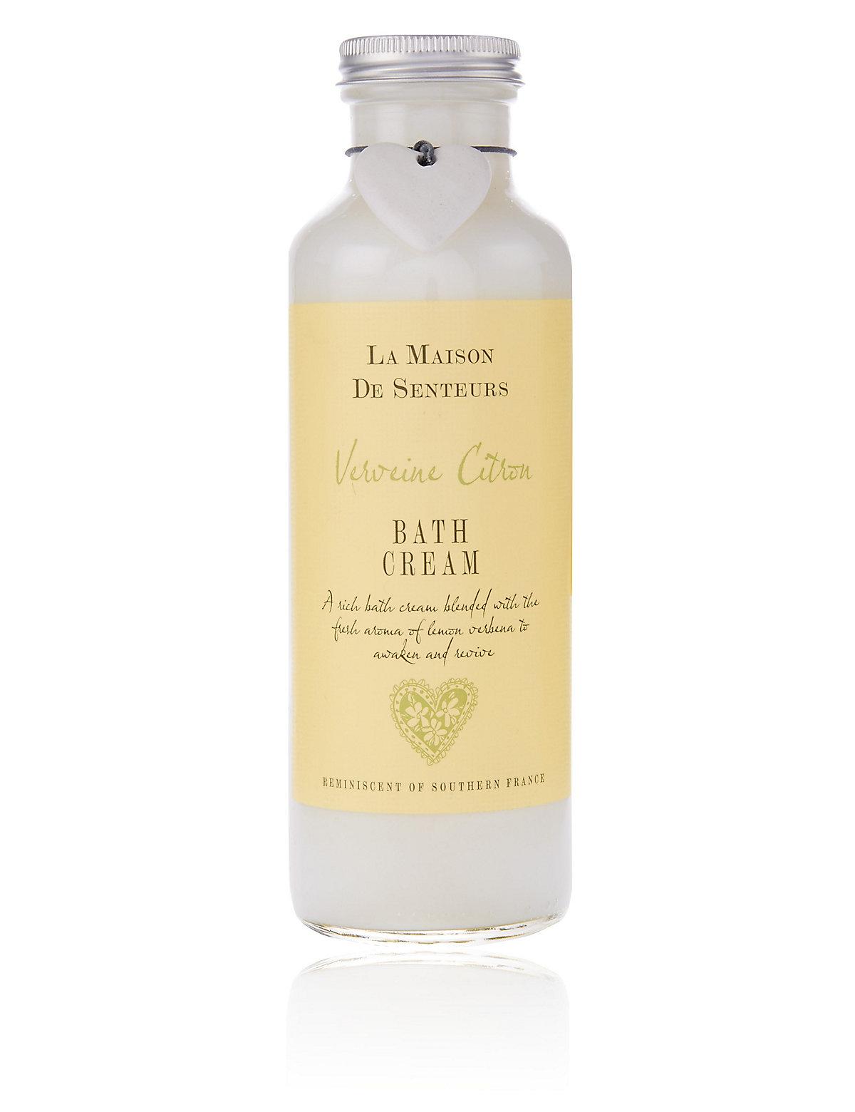 La Maison de Senteurs Verveine Citron Bath Cream 400ml