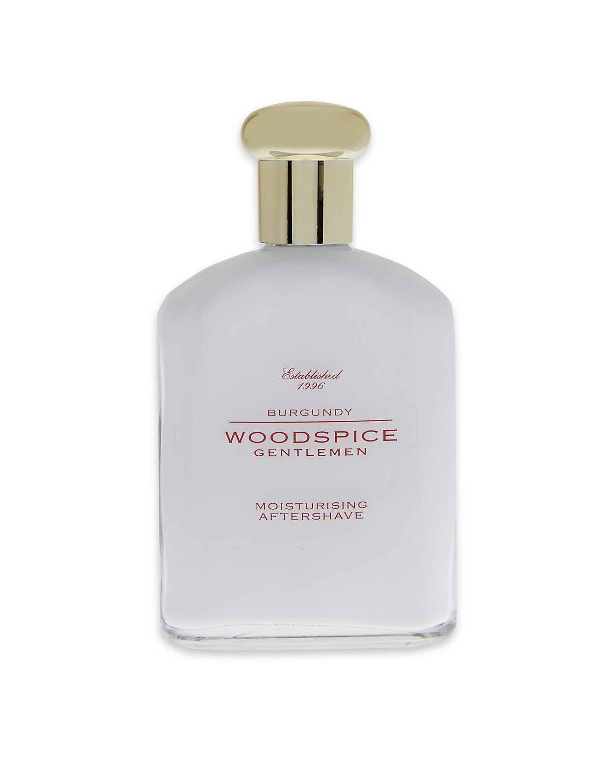 Woodspice Burgundy Moisturising Aftershave 100ml