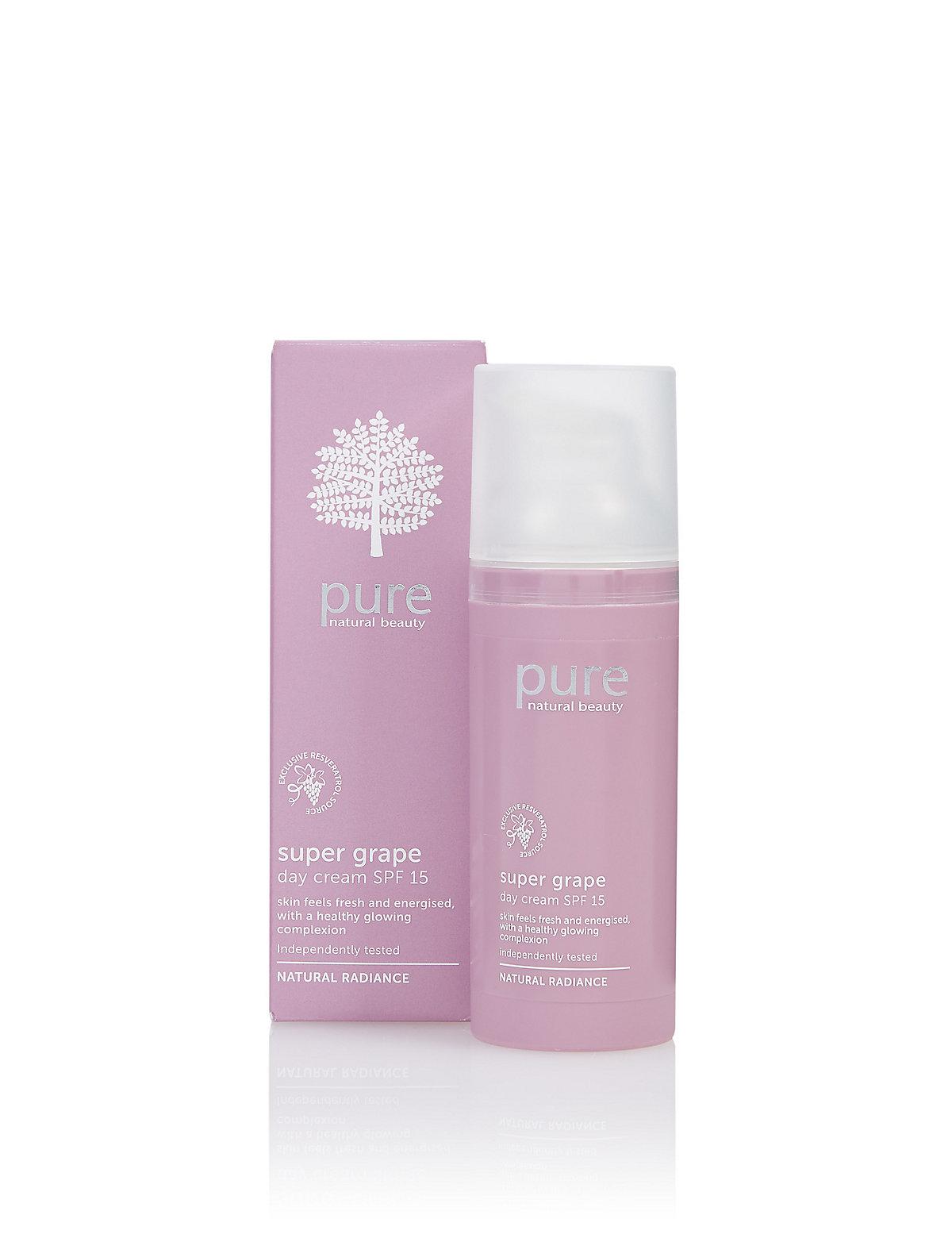 Pure Super Grape Day Cream SPF15 50ml
