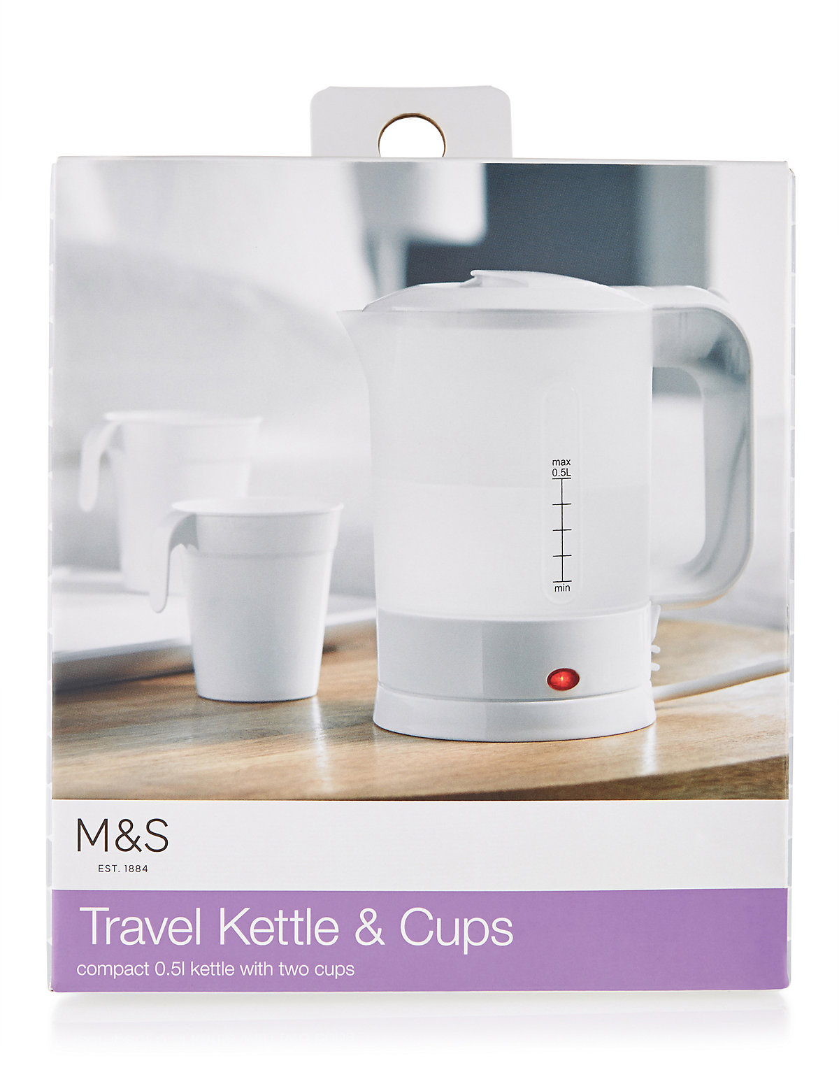 M&S Collection Travel Electric Kettle