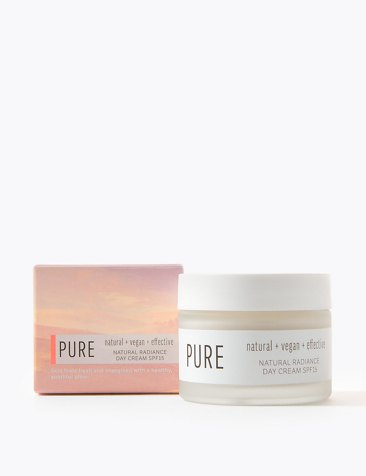 Pure Natural Radiance Day Cream SPF 15 50ml
