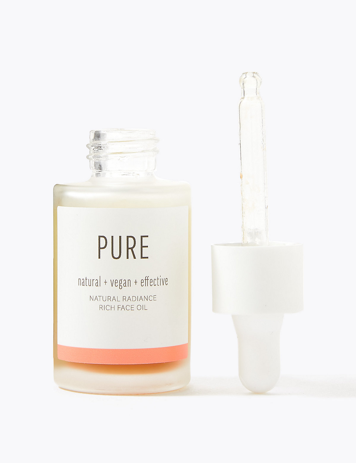 Pure Natural Radiance Rich Face Oil 30ml
