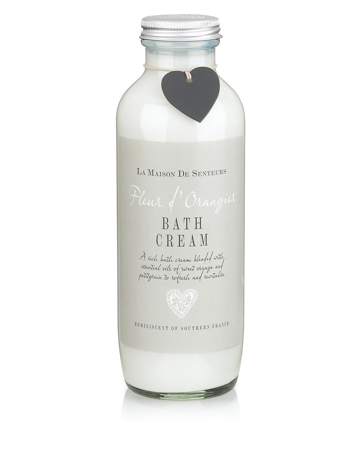 La Maison de Senteurs Fleur d' Orangier Bath Cream 400ml