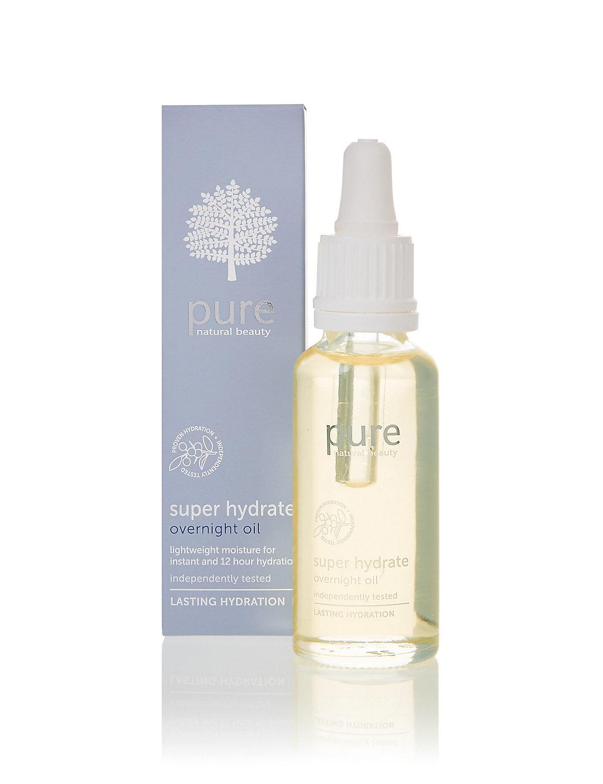 Pure Super Hydrate Overnight Oil 28ml