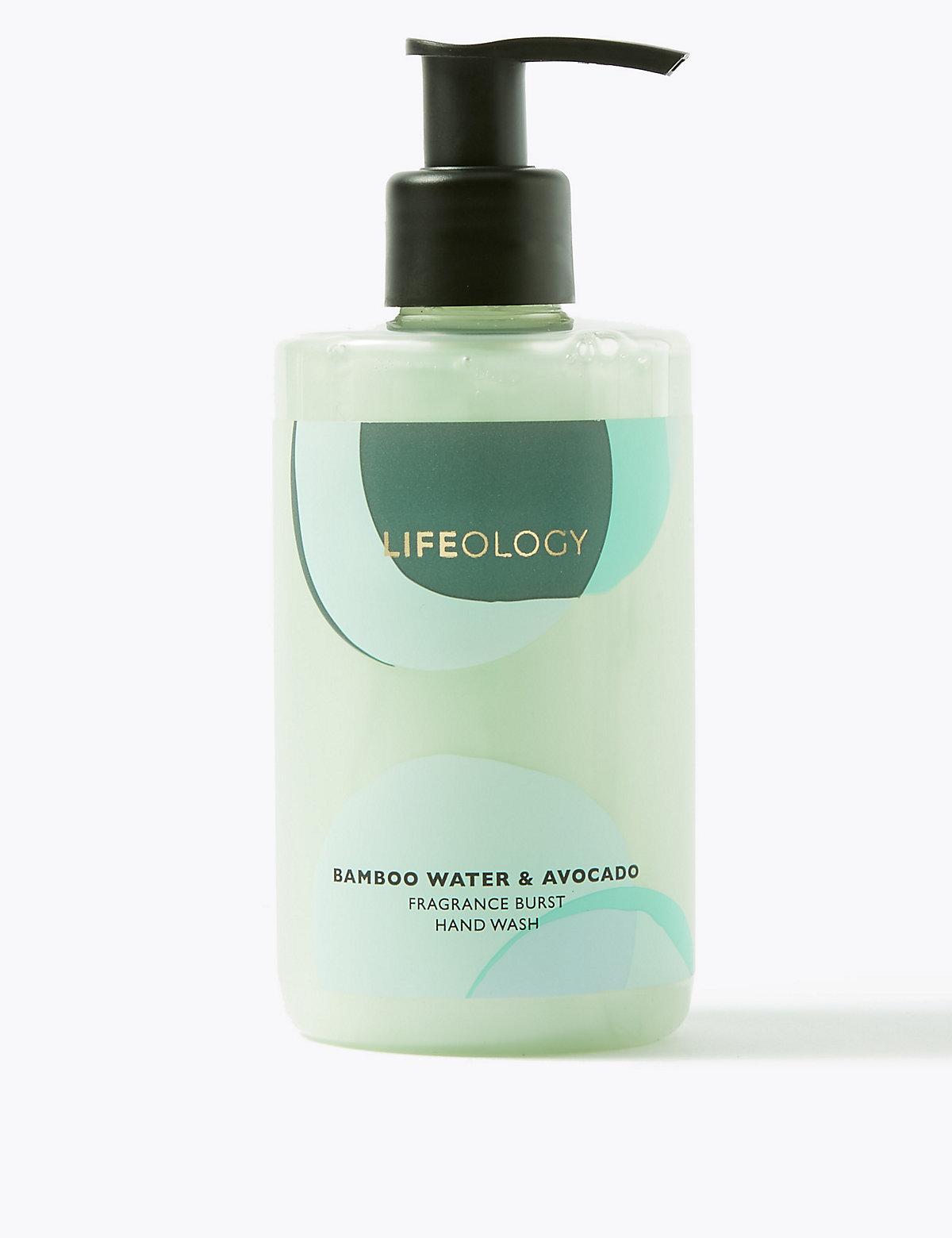 Lifeology Bamboo Water & Avocado Fragrance Burst Hand Wash 250ml