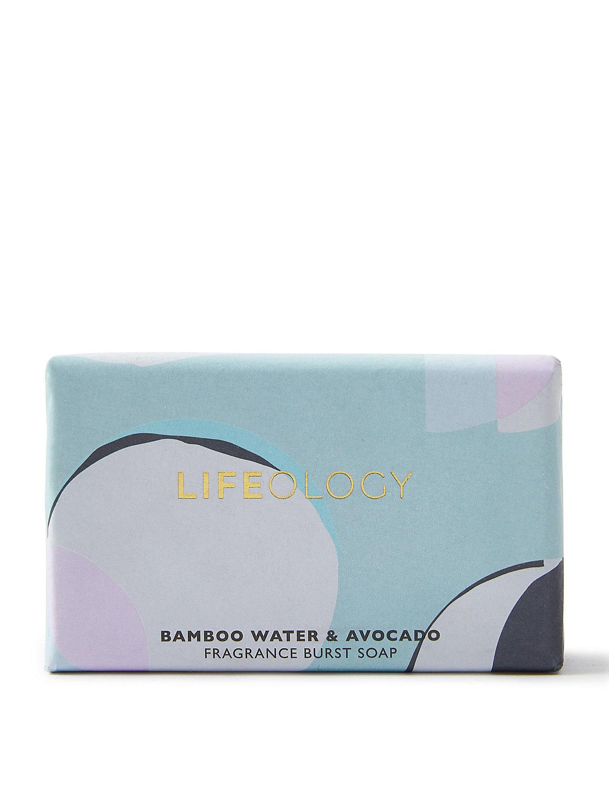 Lifeology Bamboo Water & Avocado Soap 200g