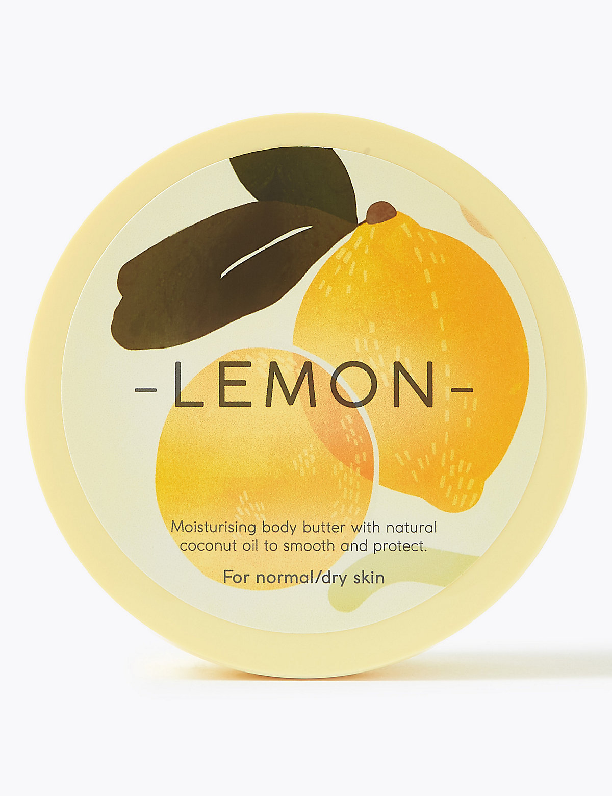 Nature's Ingredients Lemon Body Butter 200ml