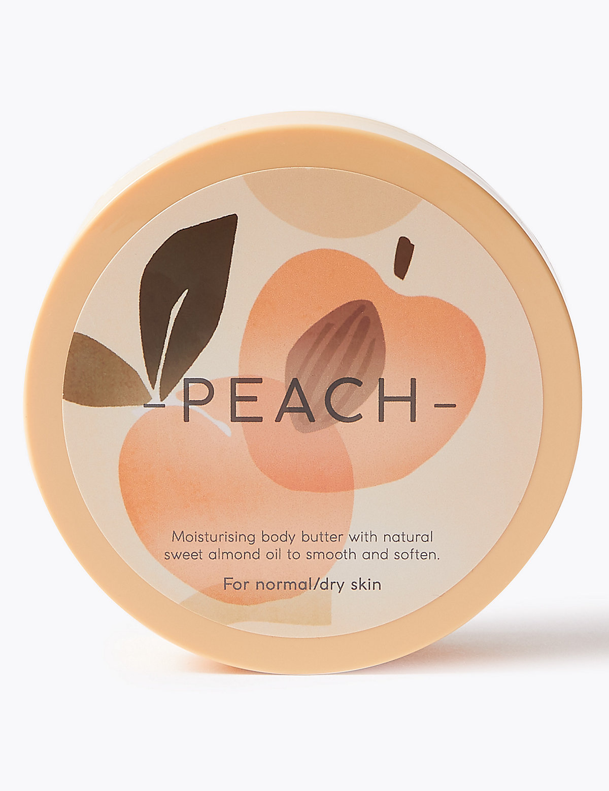 Nature's Ingredients Peach Body Butter 200ml