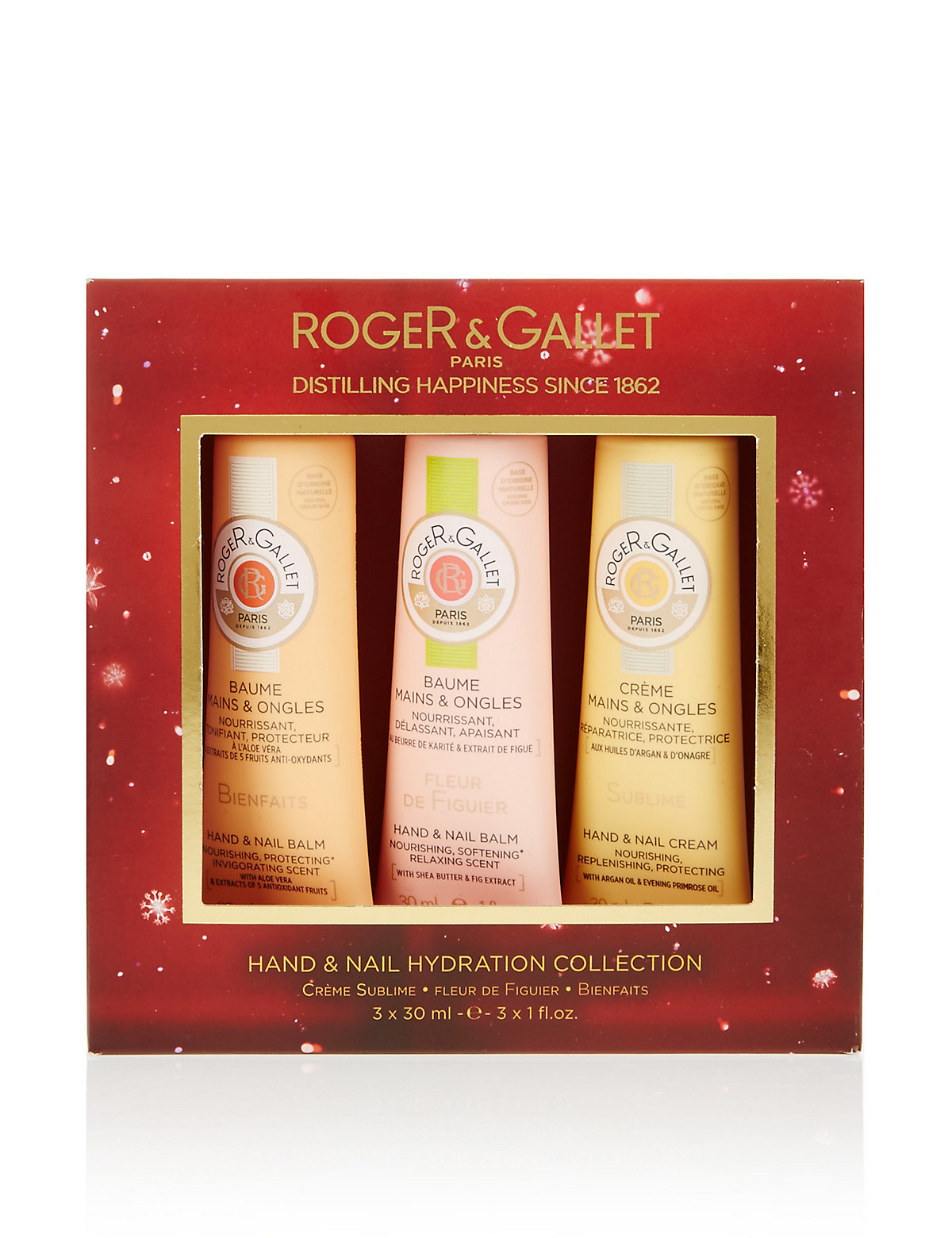 Roger&Gallet Hand & Nail Hydration Collection