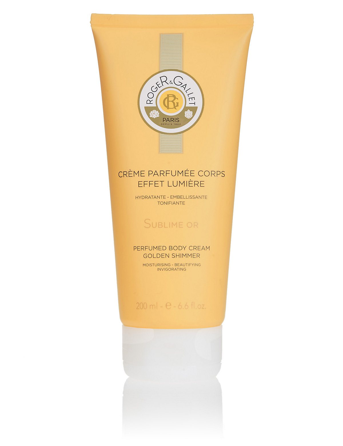 Roger&Gallet Bois D'Orange Gold Shimmer Body Cream 200ml
