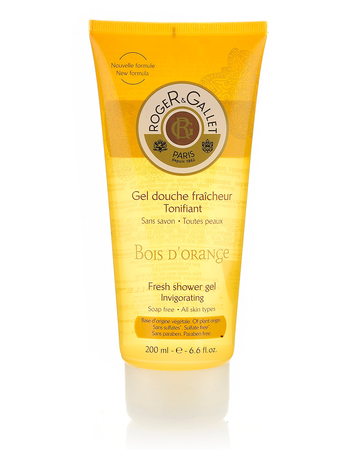 Roger&Gallet Bois d'Orange Bath & Shower Gel 200ml