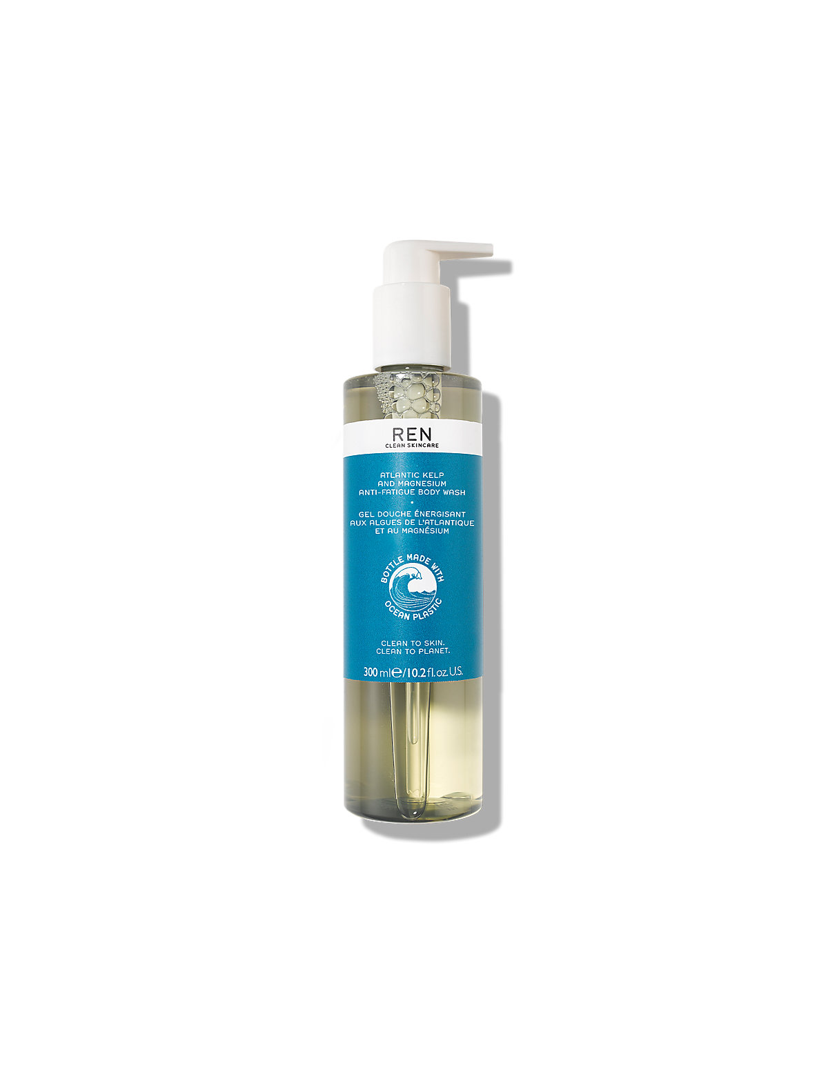 REN Atlantic Kelp & Magnesium Anti-Fatigue Body Wash 300ml