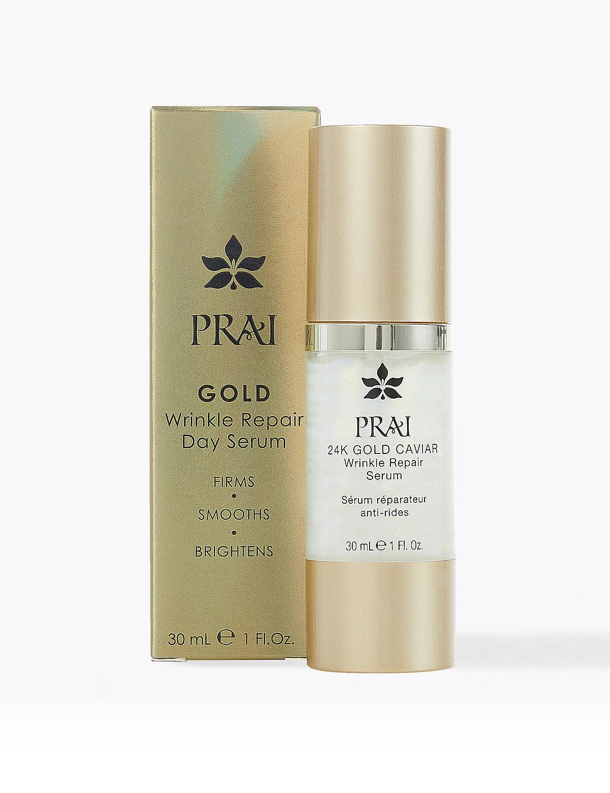 PRAI 24k Gold Wrinkle Repair Serum 30ml