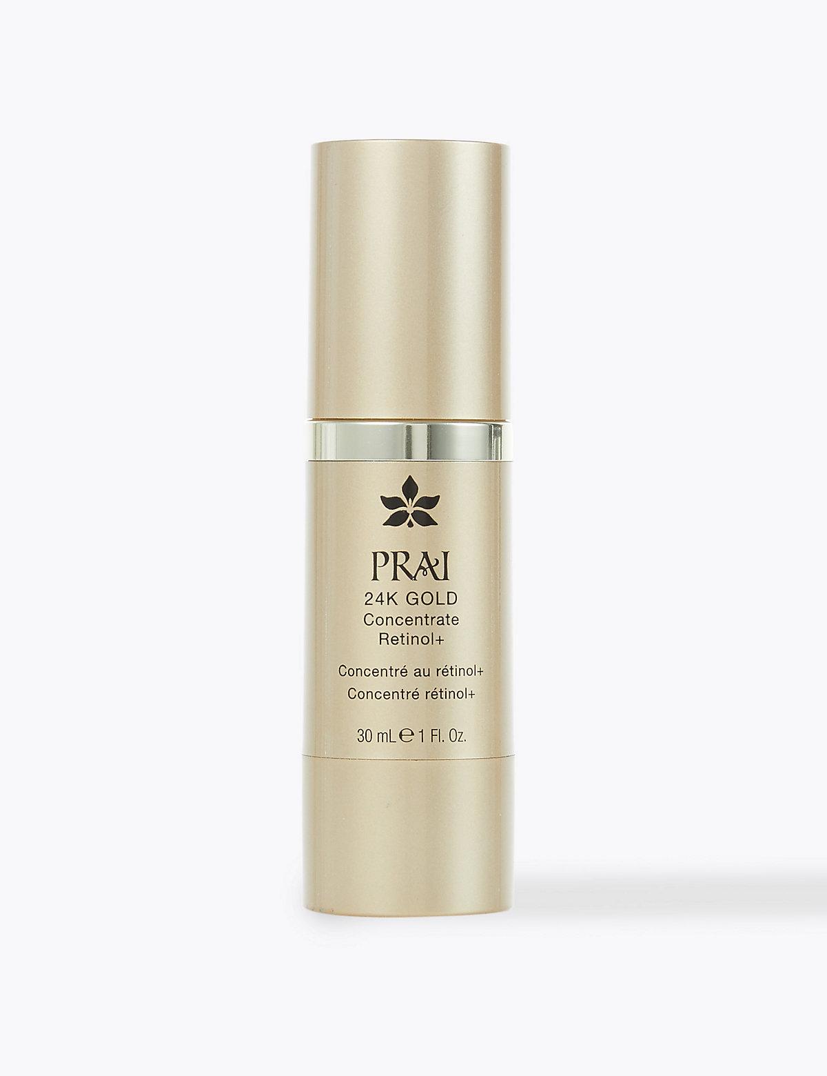 PRAI 24k Gold Retinol Concentrate 30ml