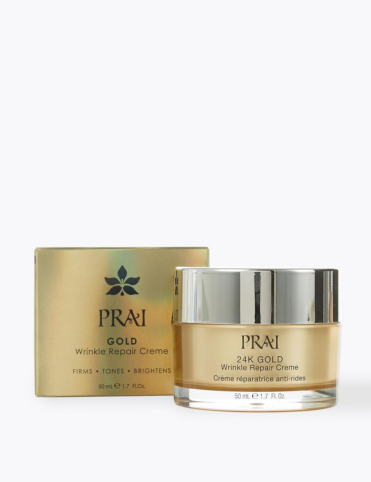 PRAI 24k Wrinkle Repair Crème 50ml