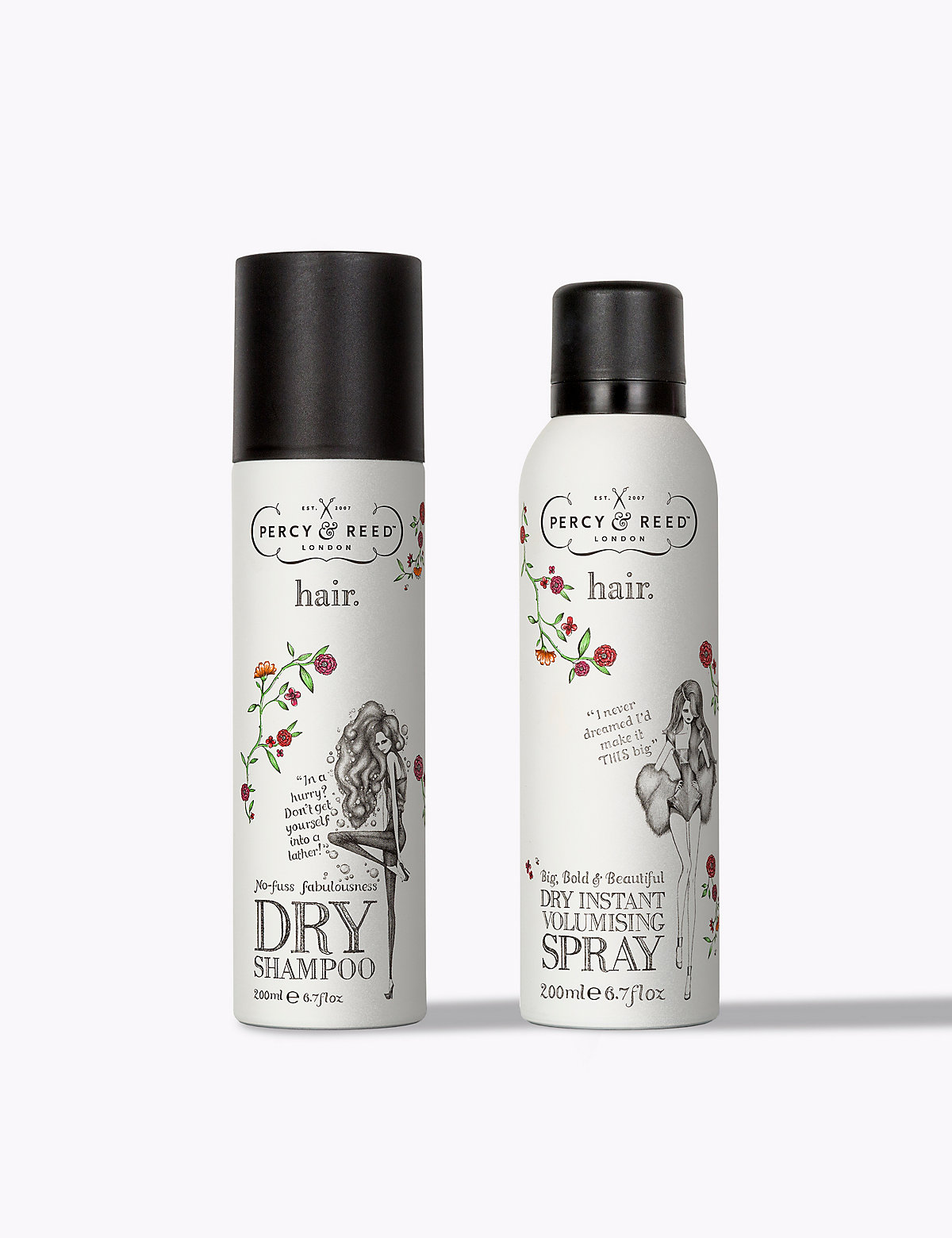 Percy & Reed *Free Gift* Eau My Goodness Volumising Duo