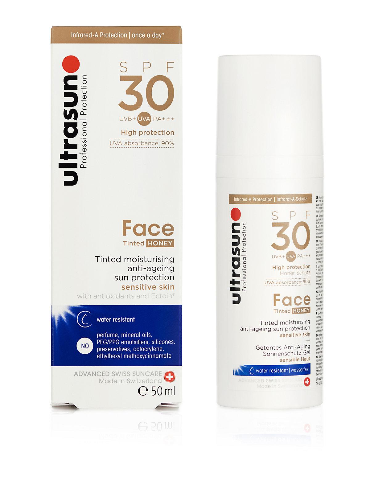 Ultrasun Face Tinted SPF 30 Honey 50ml