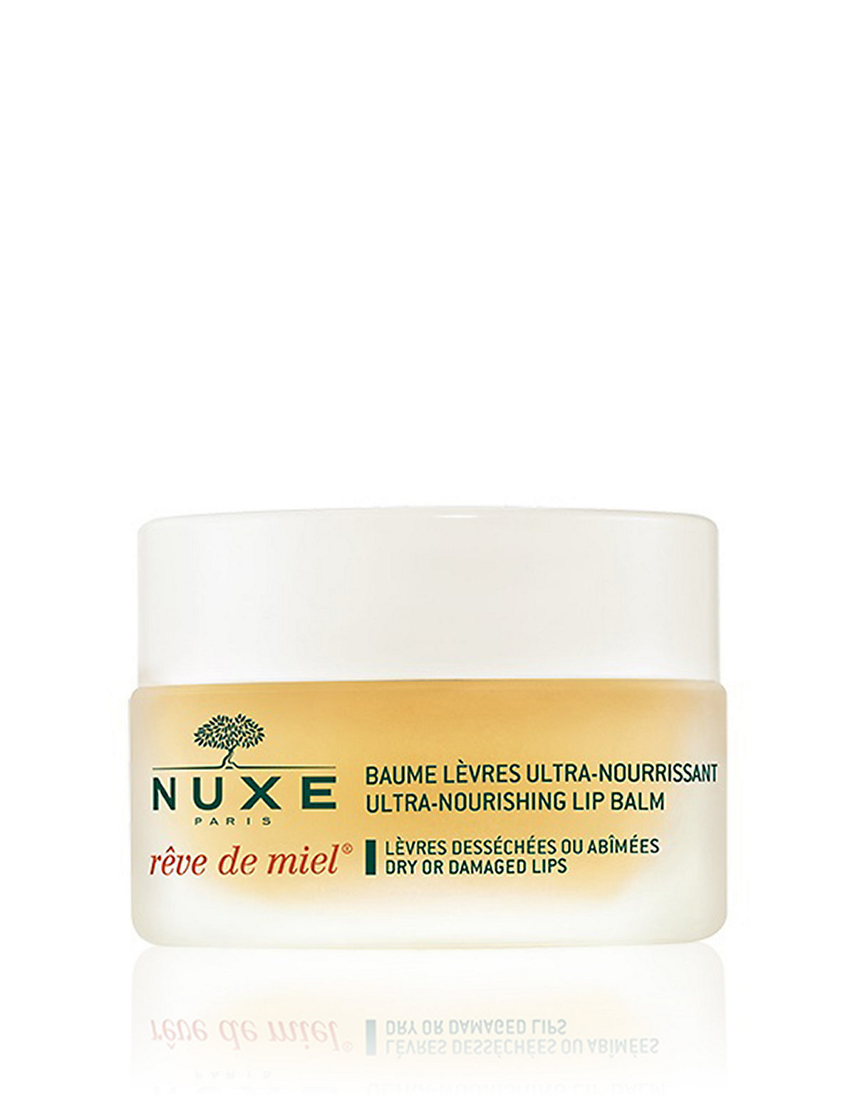 NUXE Rêve de Miel Nourishing Lip Balm For Dry Lips 15g