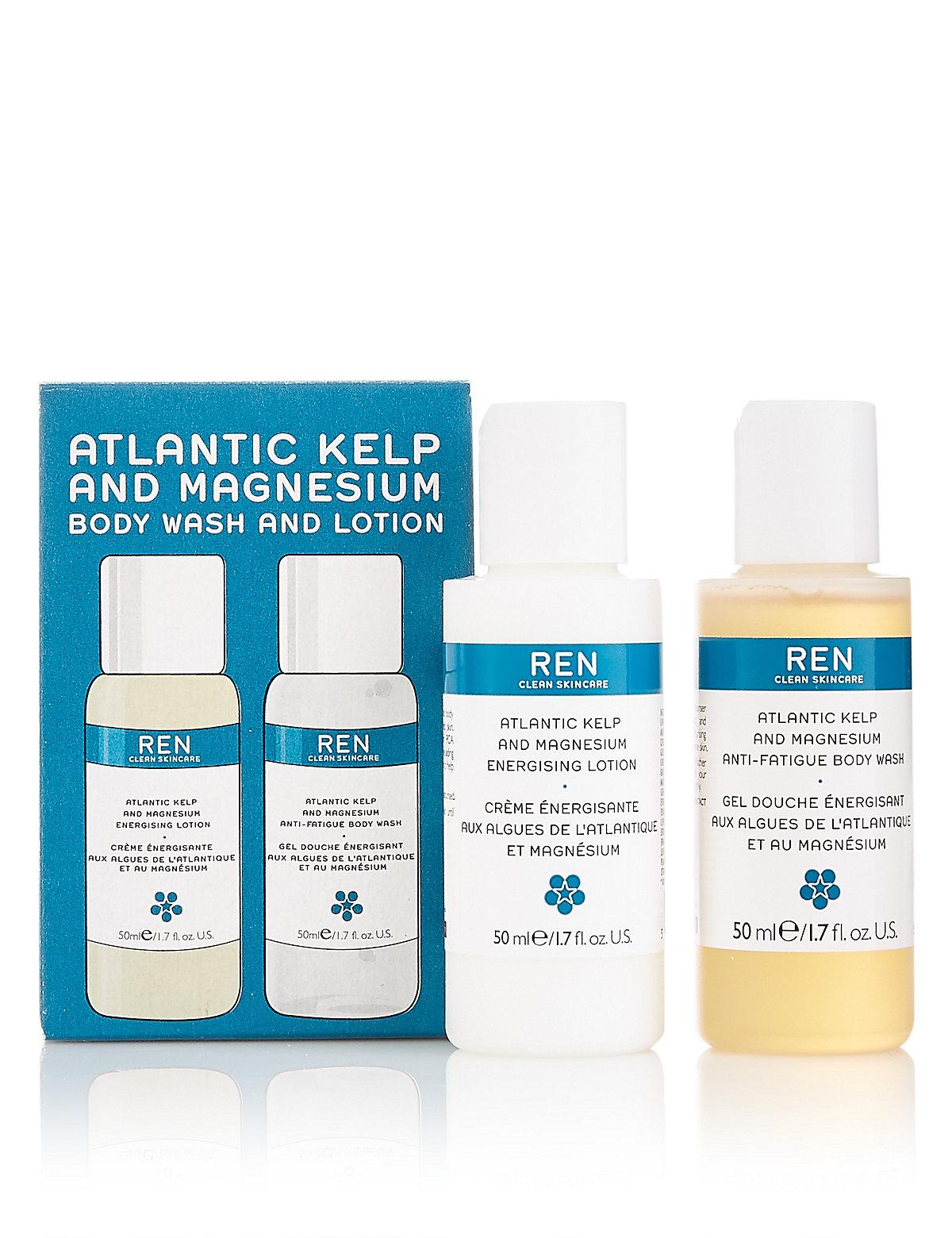 REN Atlan Kelp Mag Mini Body Duo Kit