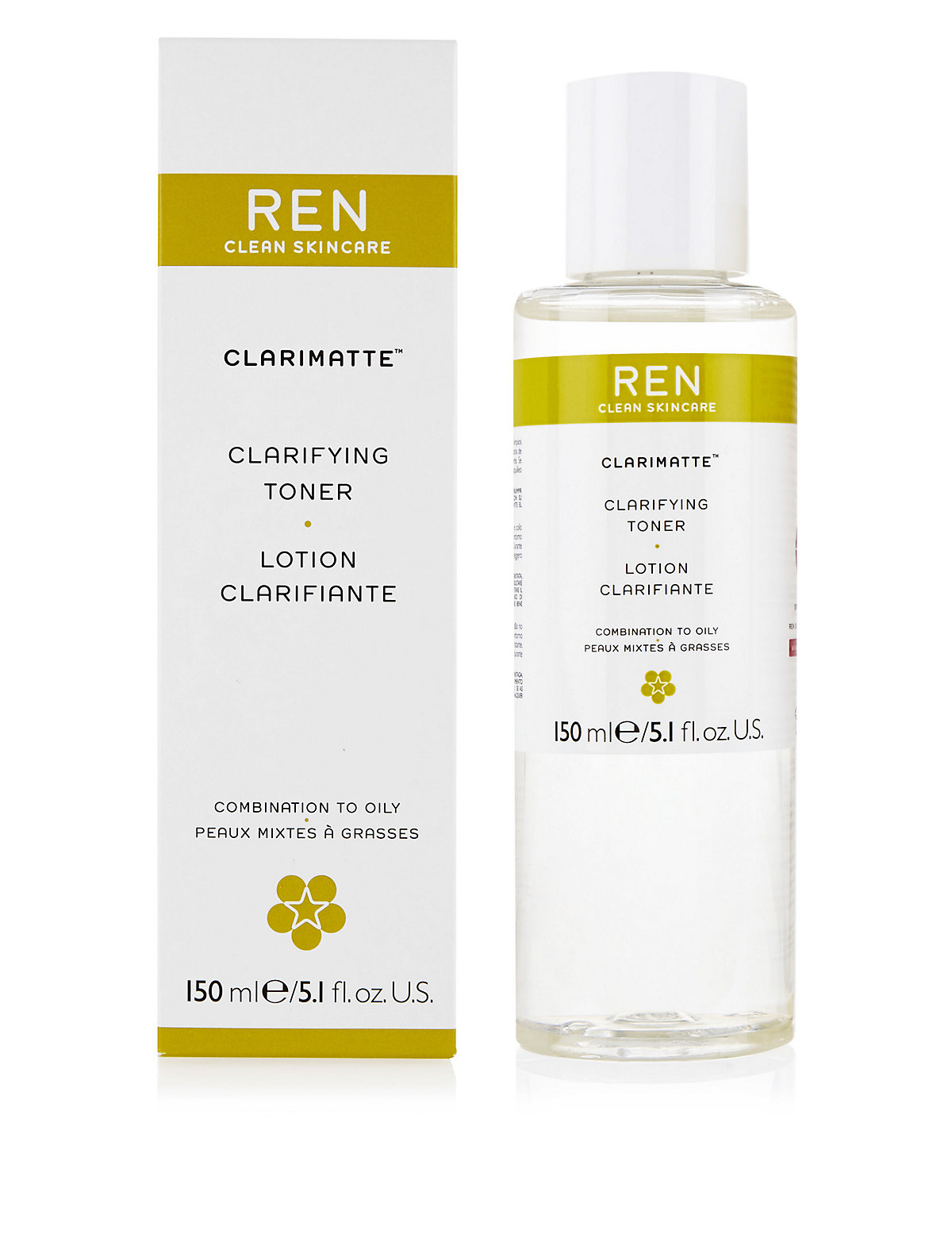 REN Clarifying Toning Lotion 150ml