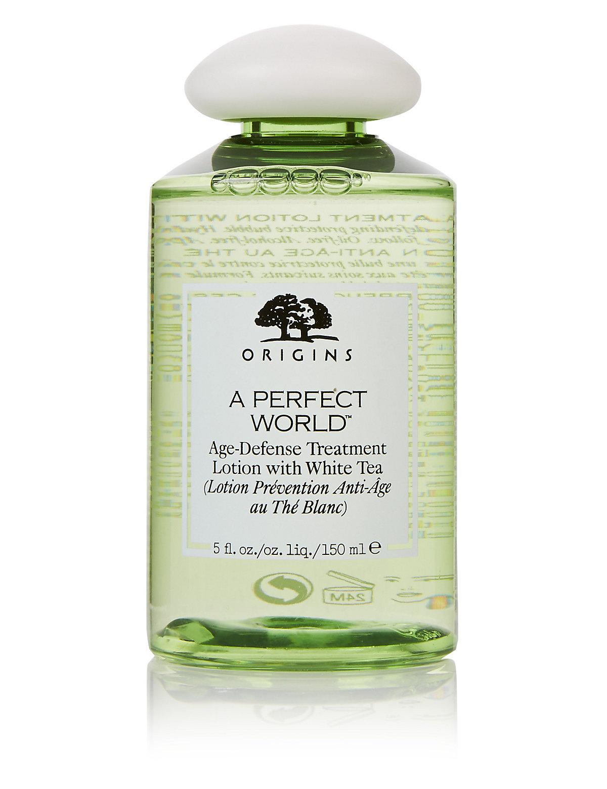 Origins A Perfect World Age-Defense Treatment Lotion with White Tea 150ml