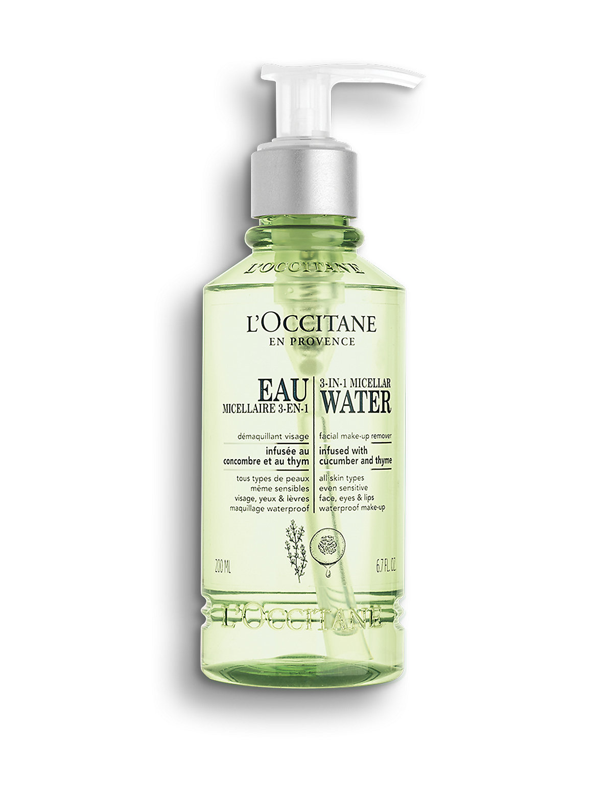 L'Occitane Cleansing Infusions 3 in 1 Micellar Water 200ml