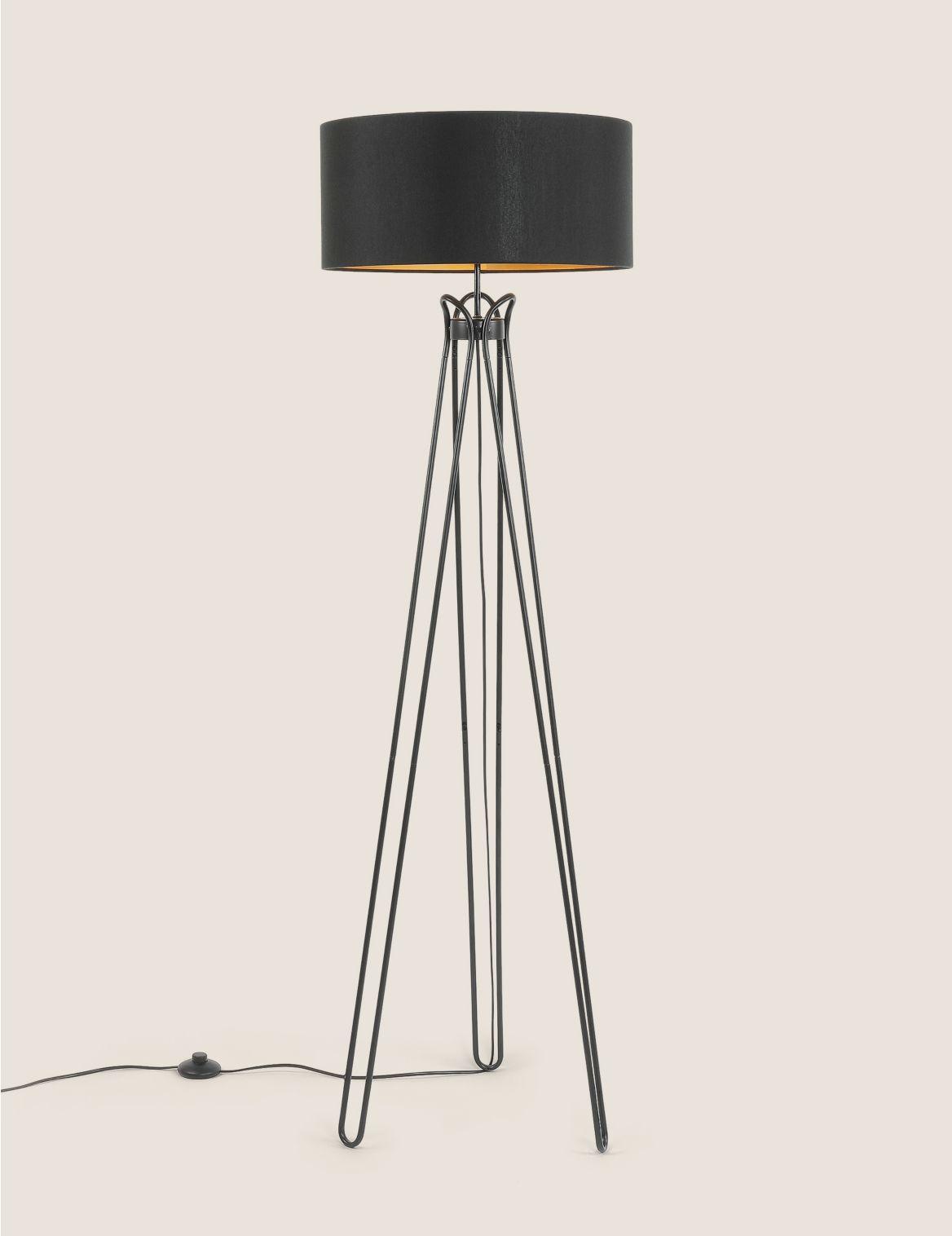 Hairpin Floor Lamp Black