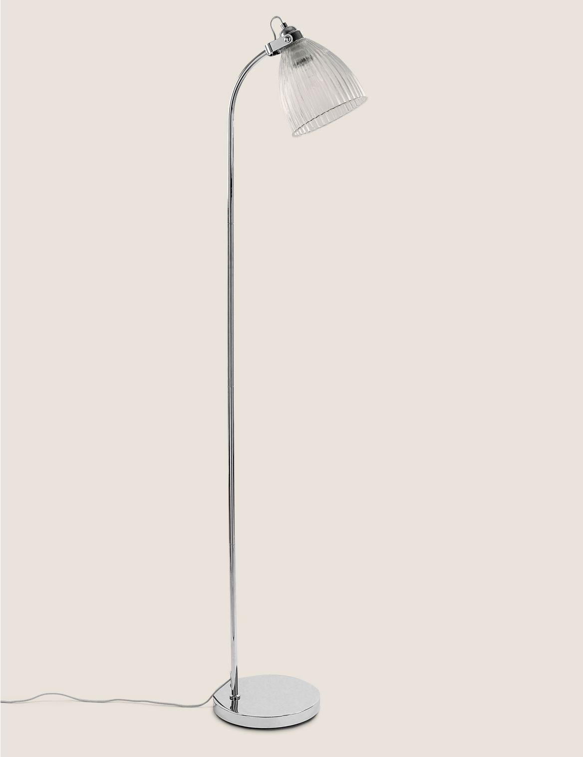 Florence Floor Lamp Silver
