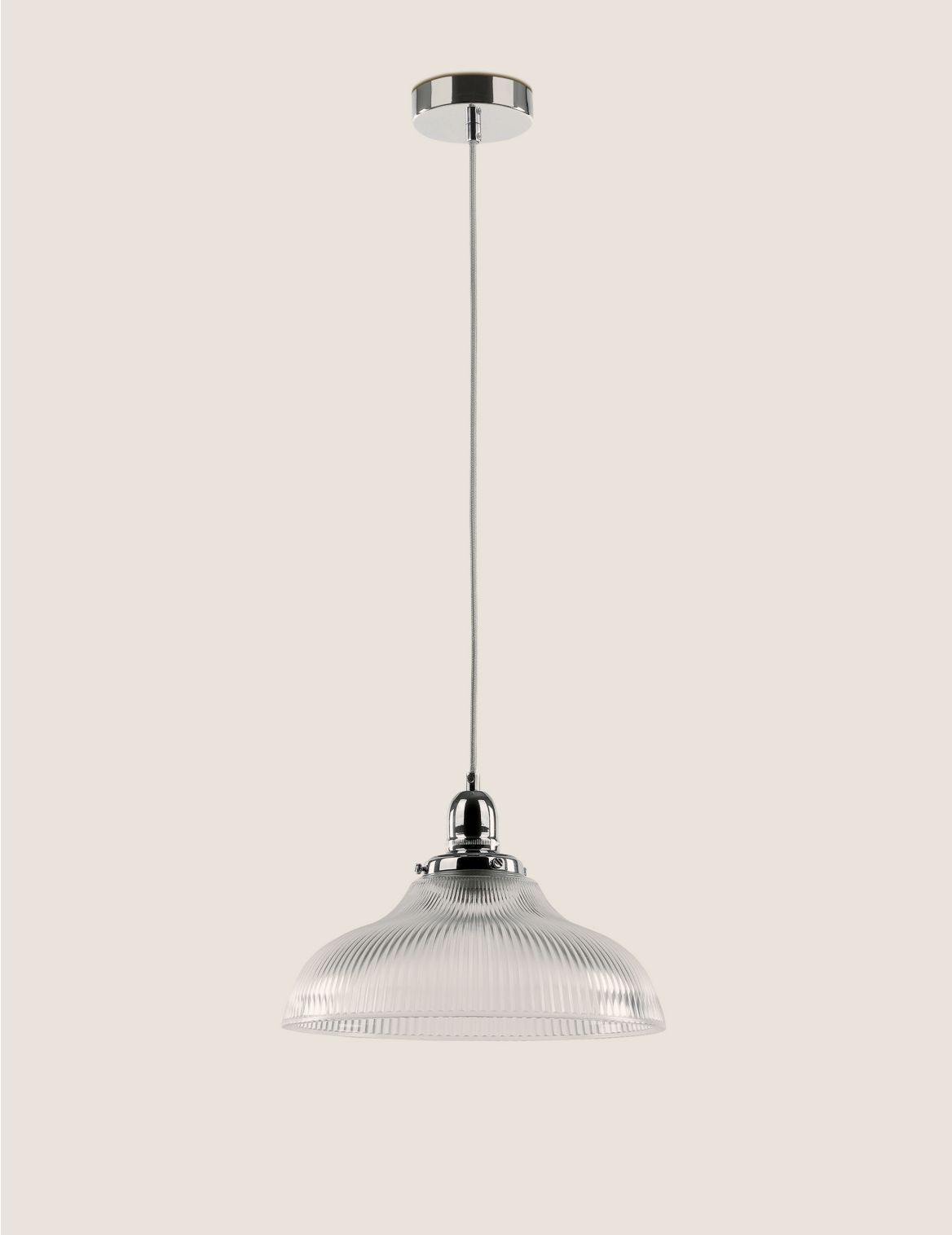 Florence Single Pendant Light Silver