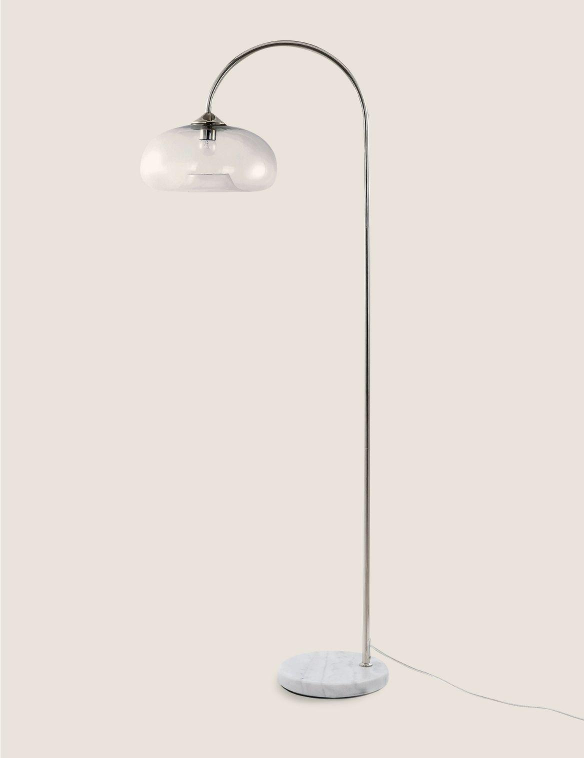 Olsen Floor Lamp Silver