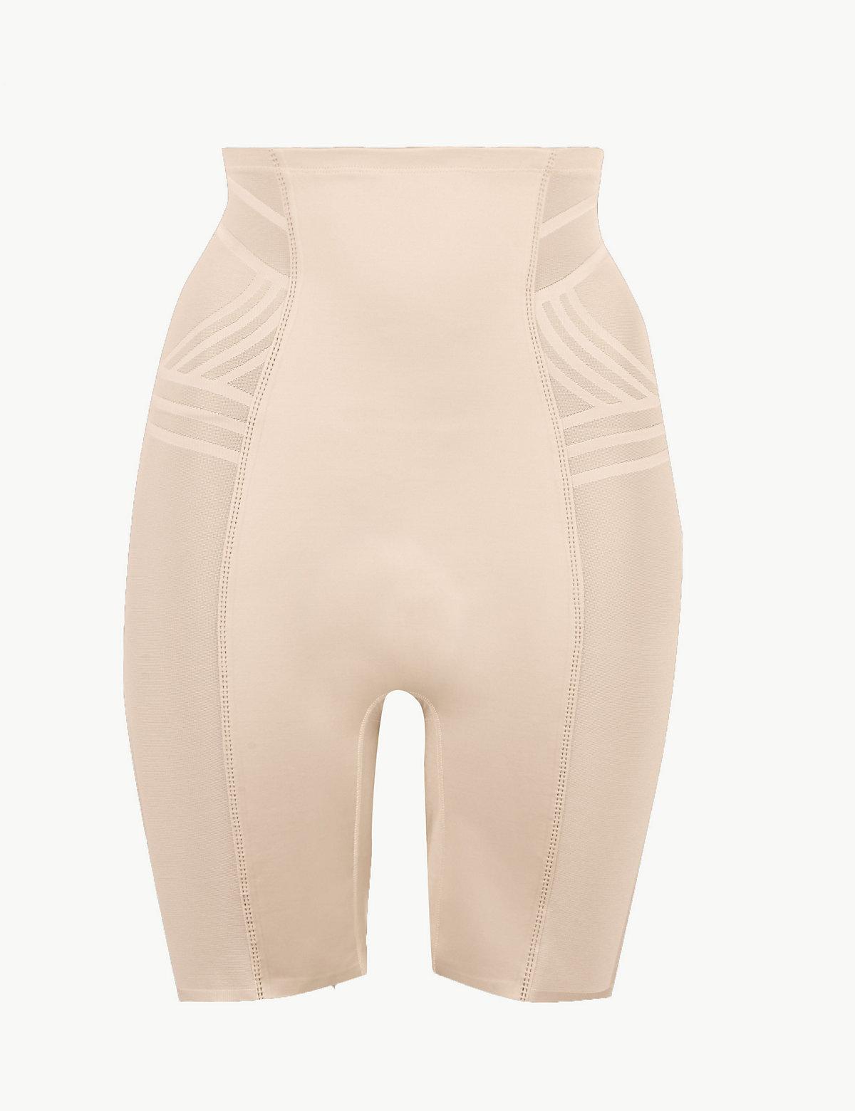 3b249011bd5cb M S Collection Firm Control Magicwear Geometric Waist   Thigh Cincher
