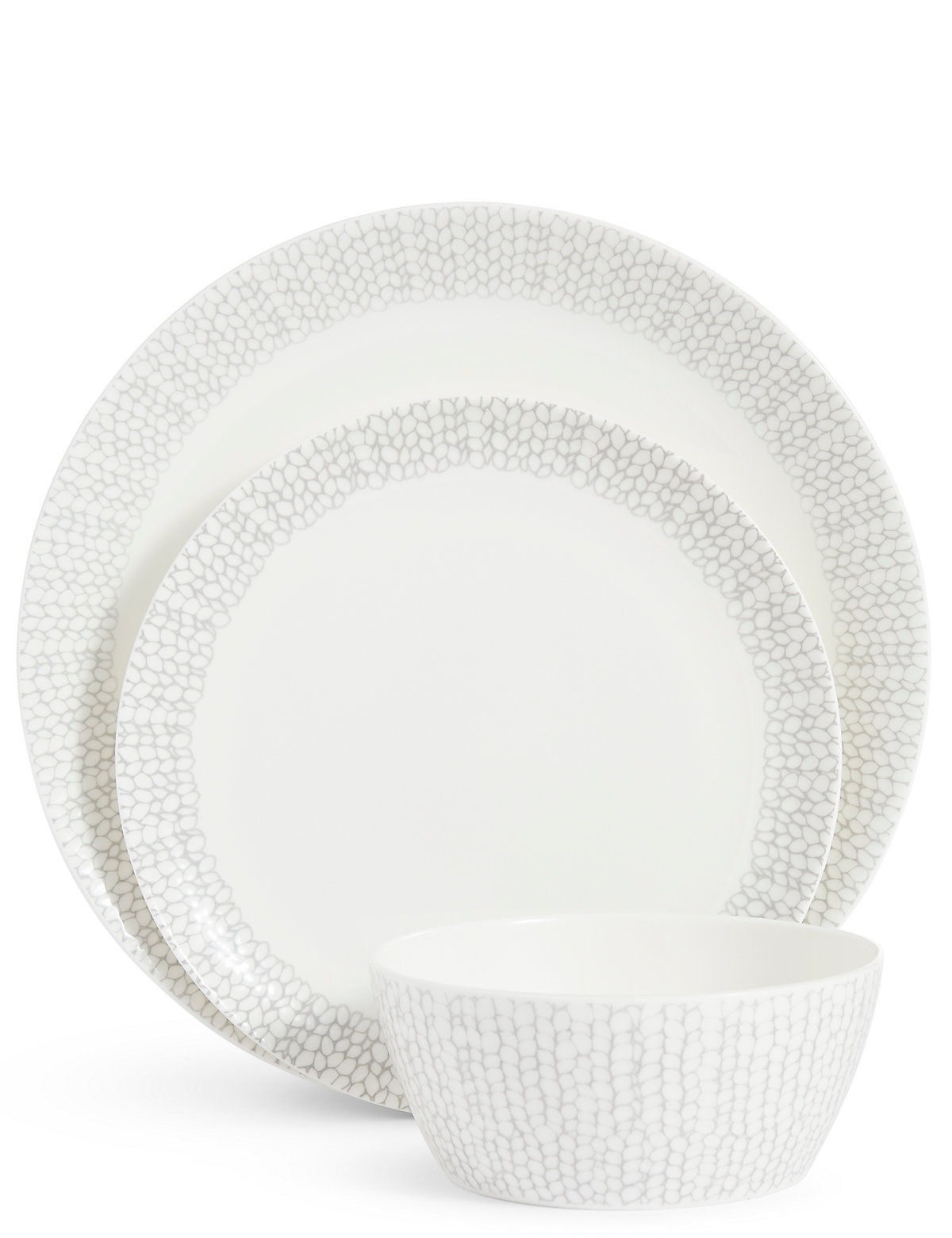 Image of 12 Piece Palermo Coupe Dinner Set