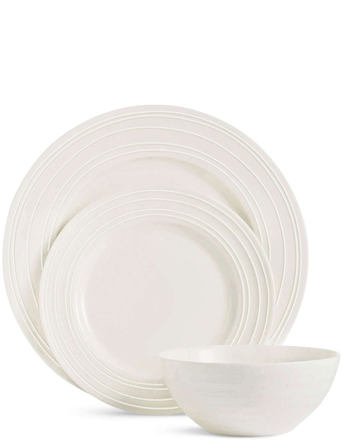 Image of 12 Piece Metro Fine China Dinner Set