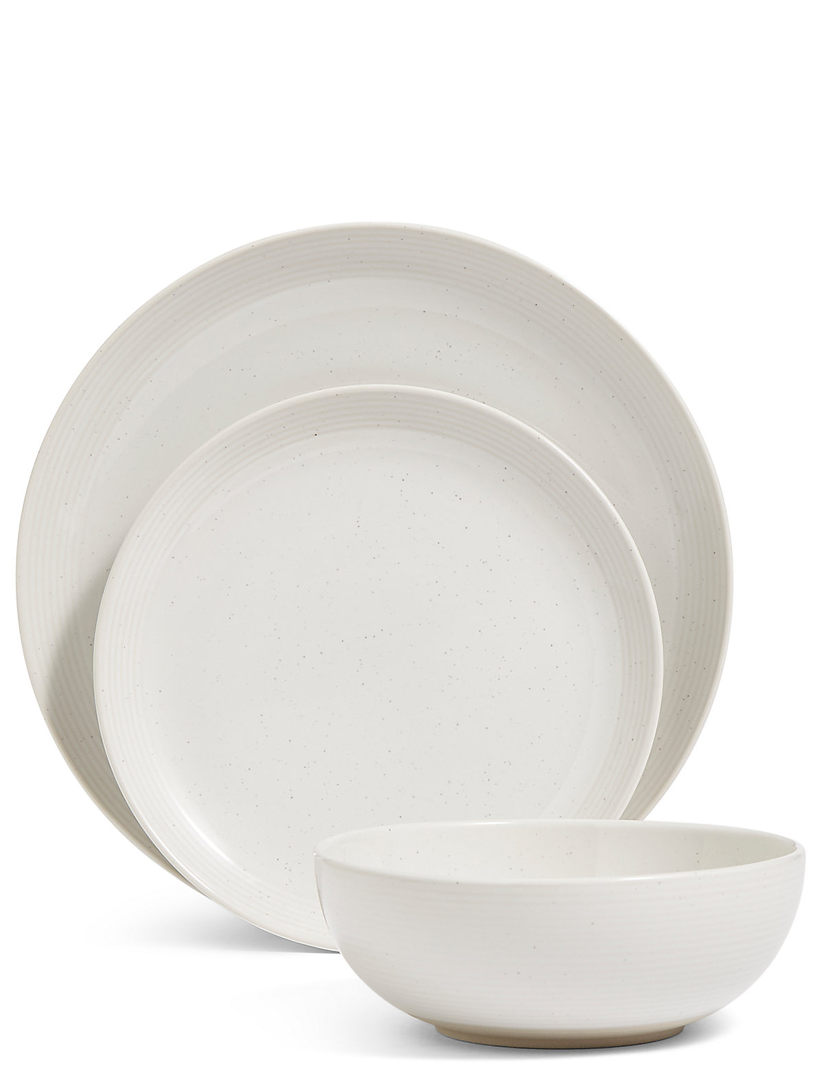 Image of 12 Piece Linear Dinner Set