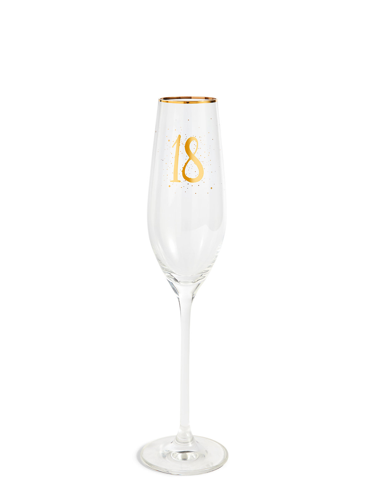 Image of 18th Birthday Champagne Flute