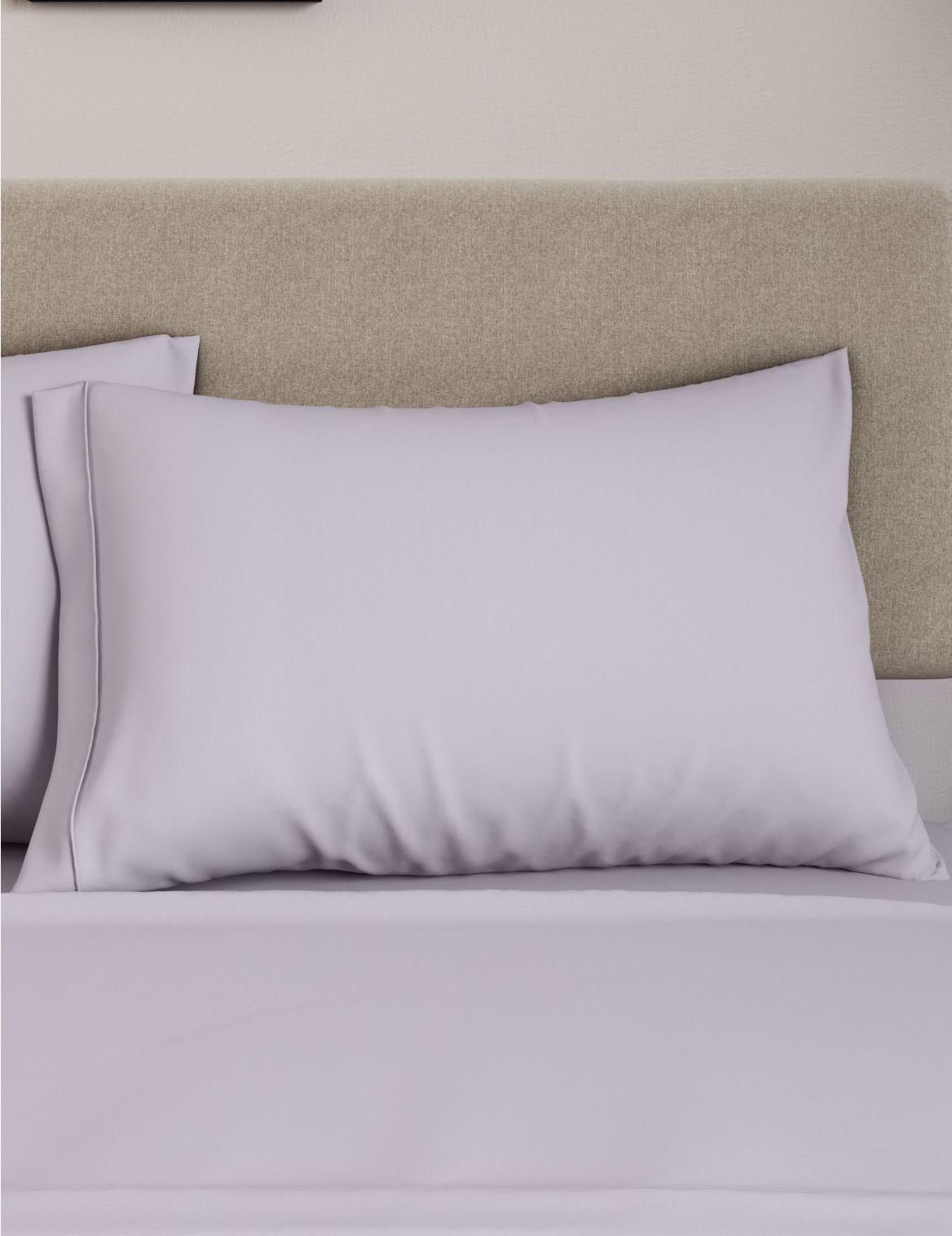 Egyptian Cotton 230 Thread Count Standard Pillowcase Purple