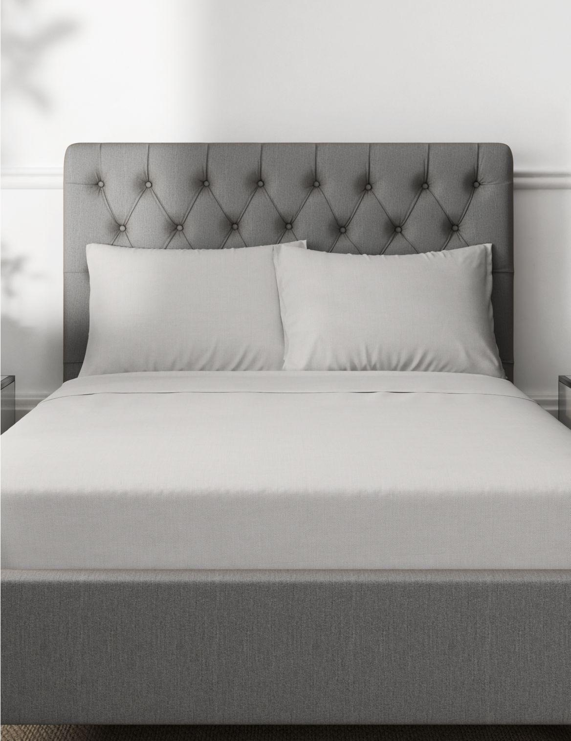 Percale 300 Thread Count Pillowcase Grey