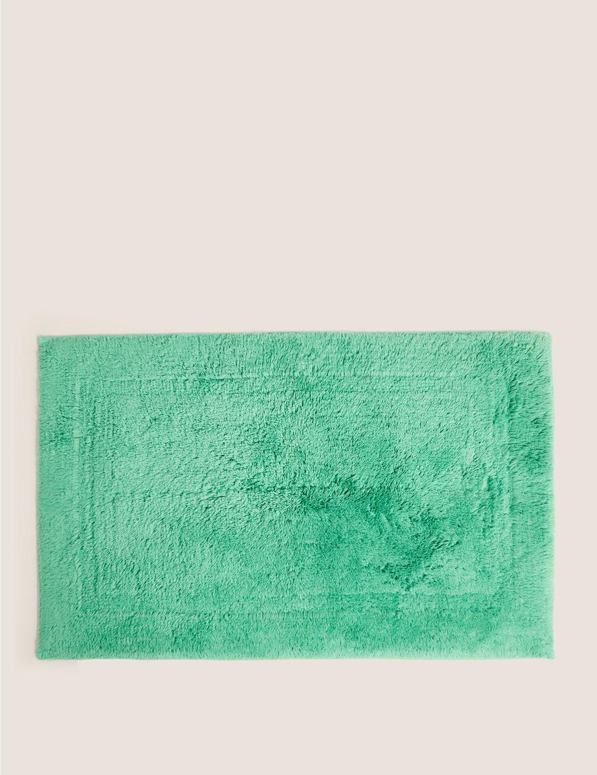 Egyptian Cotton Luxury Bath Mat Green